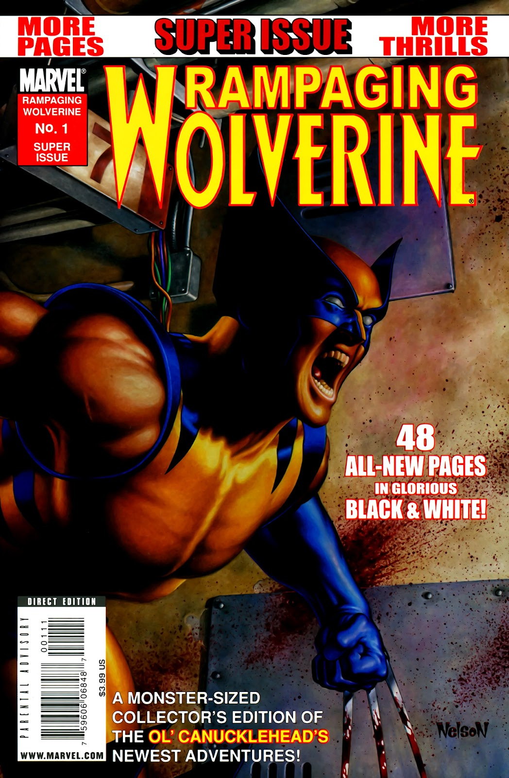 Read online Rampaging Wolverine comic -  Issue # Full - 1