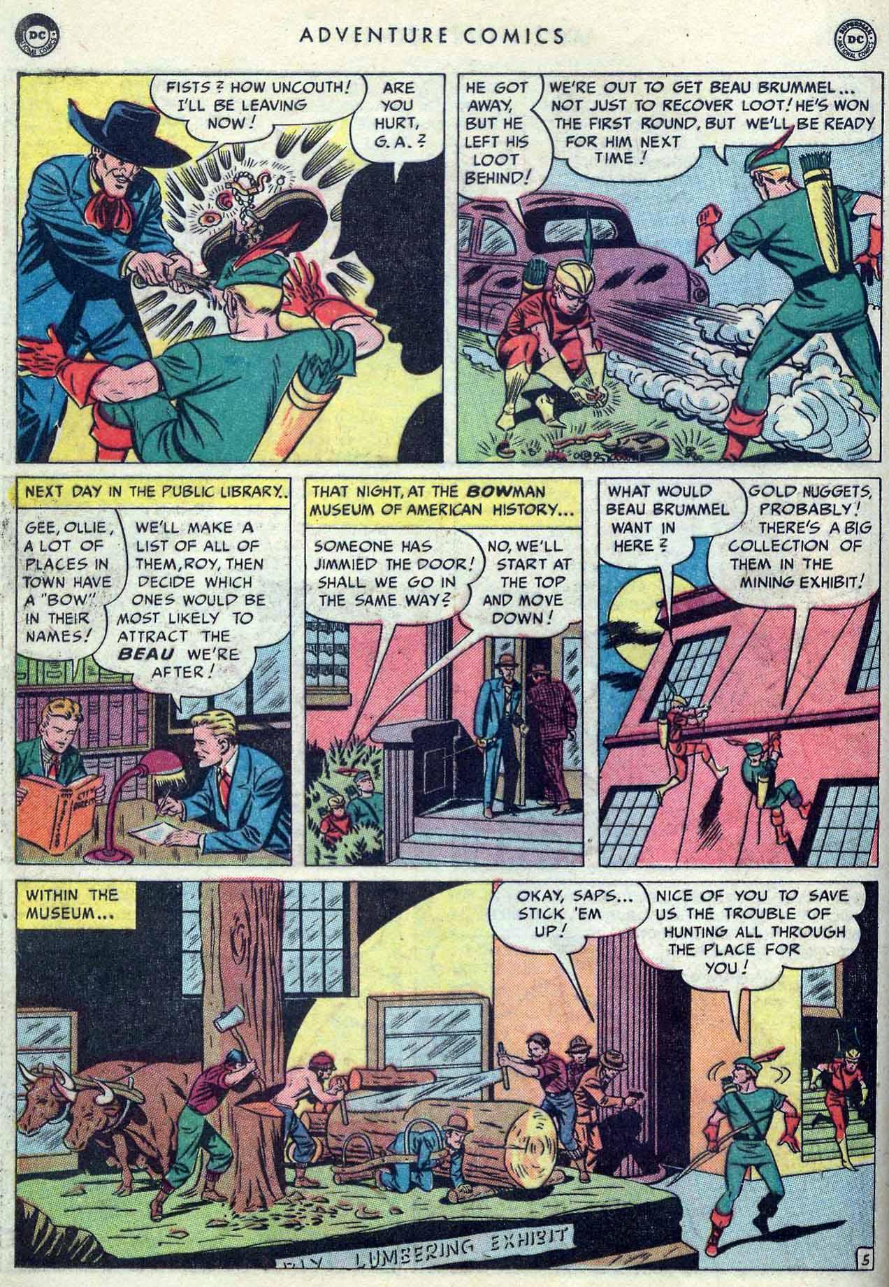 Read online Adventure Comics (1938) comic -  Issue #149 - 34