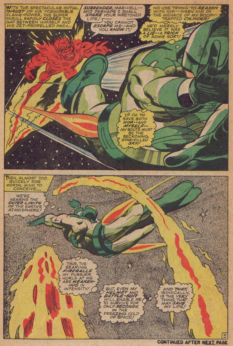 Captain Marvel (1968) Issue #3 #3 - English 10