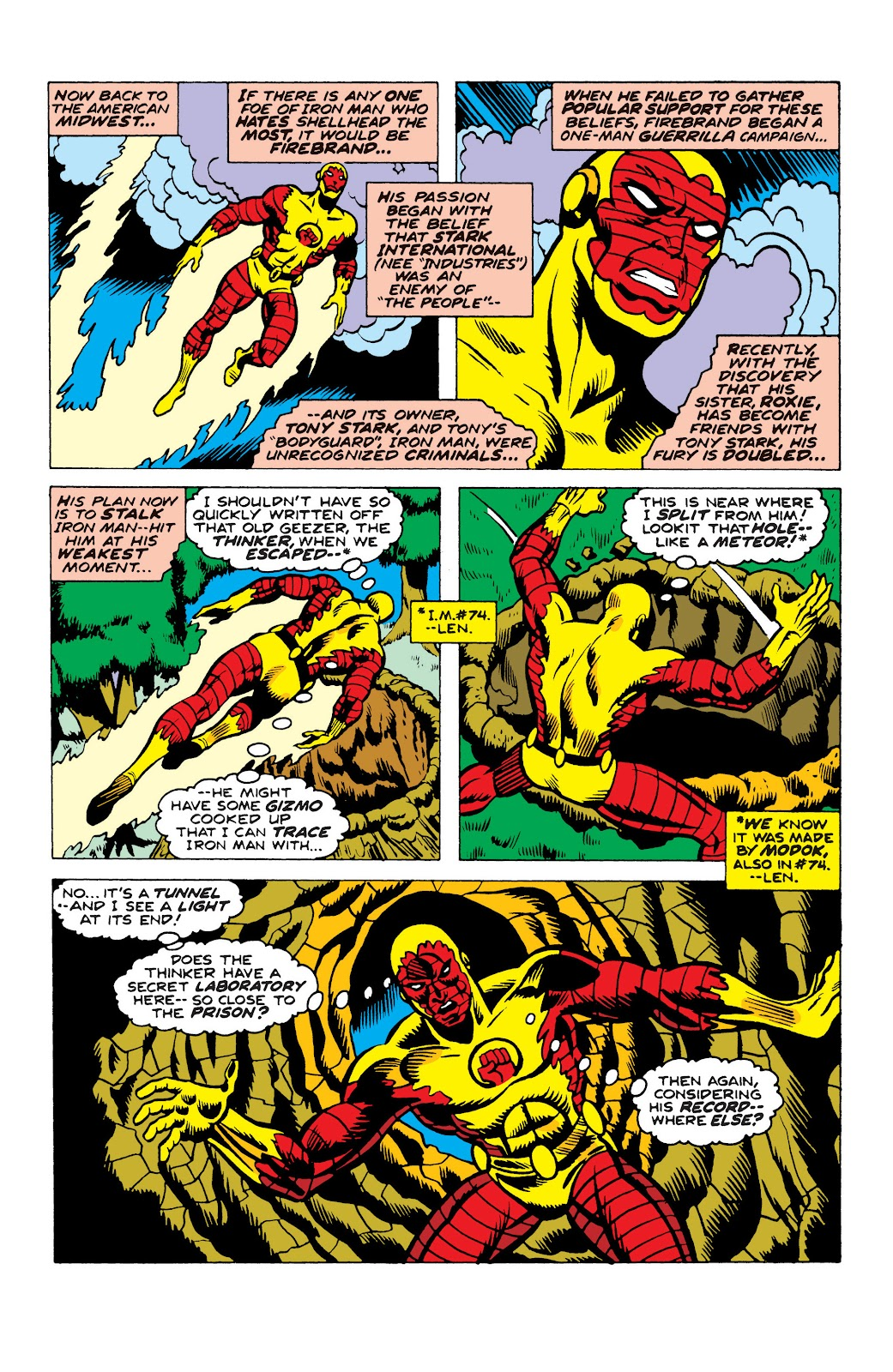 Read online Marvel Masterworks: The Invincible Iron Man comic -  Issue # TPB 10 (Part 2) - 61