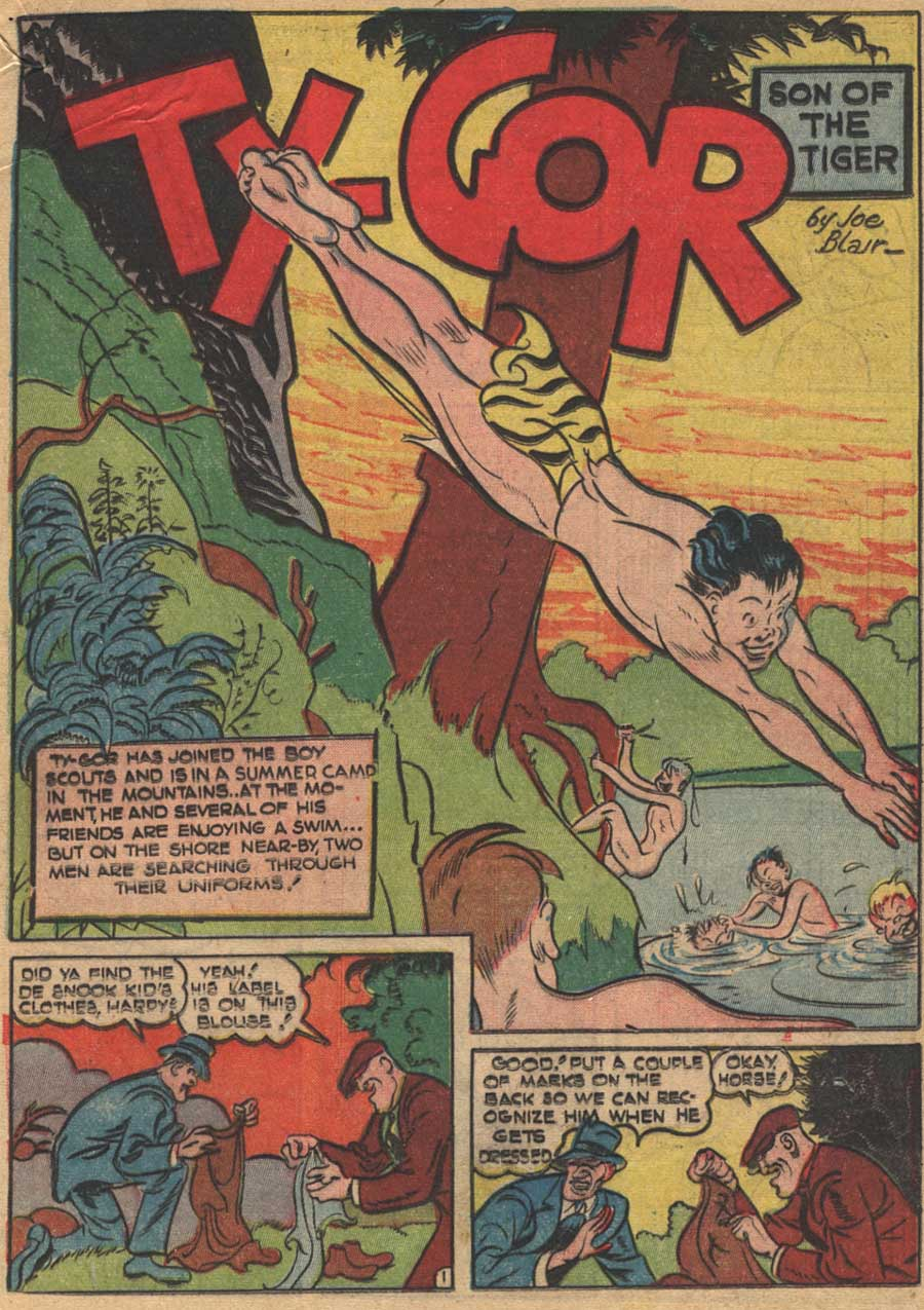 Blue Ribbon Comics (1939) issue 16 - Page 39