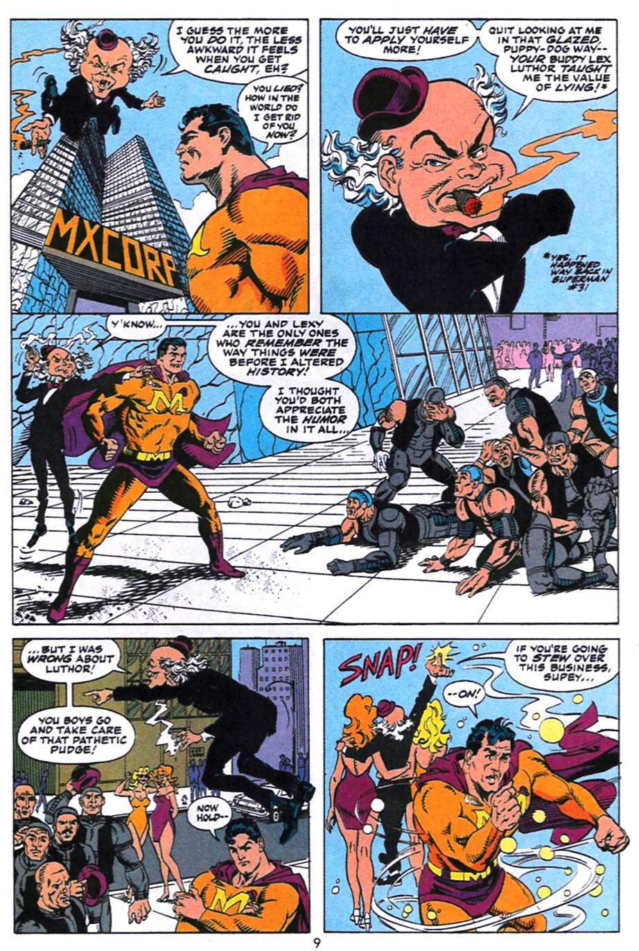 Read online Adventures of Superman (1987) comic -  Issue #496 - 10