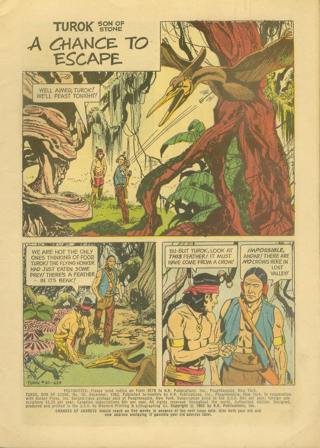Read online Turok, Son of Stone comic -  Issue #30 - 3