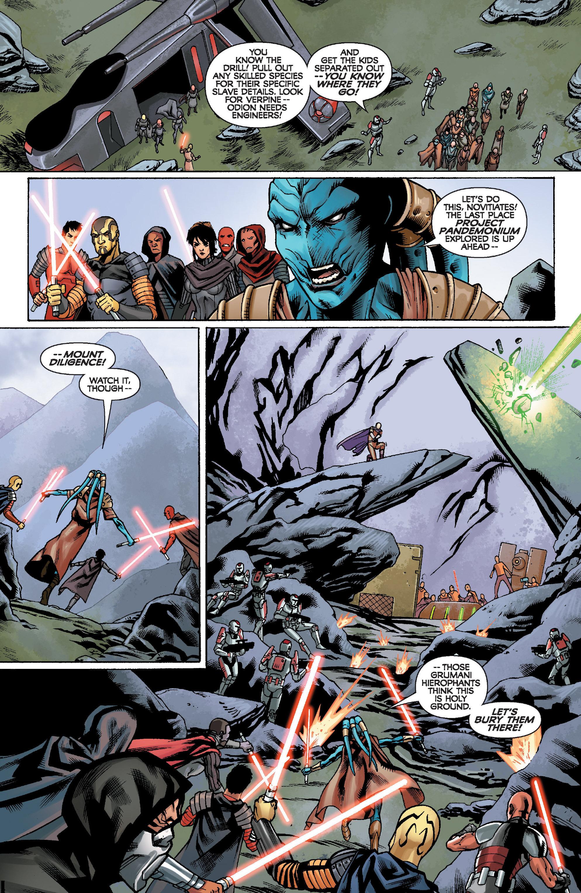Read online Star Wars: Knight Errant - Escape comic -  Issue #2 - 7