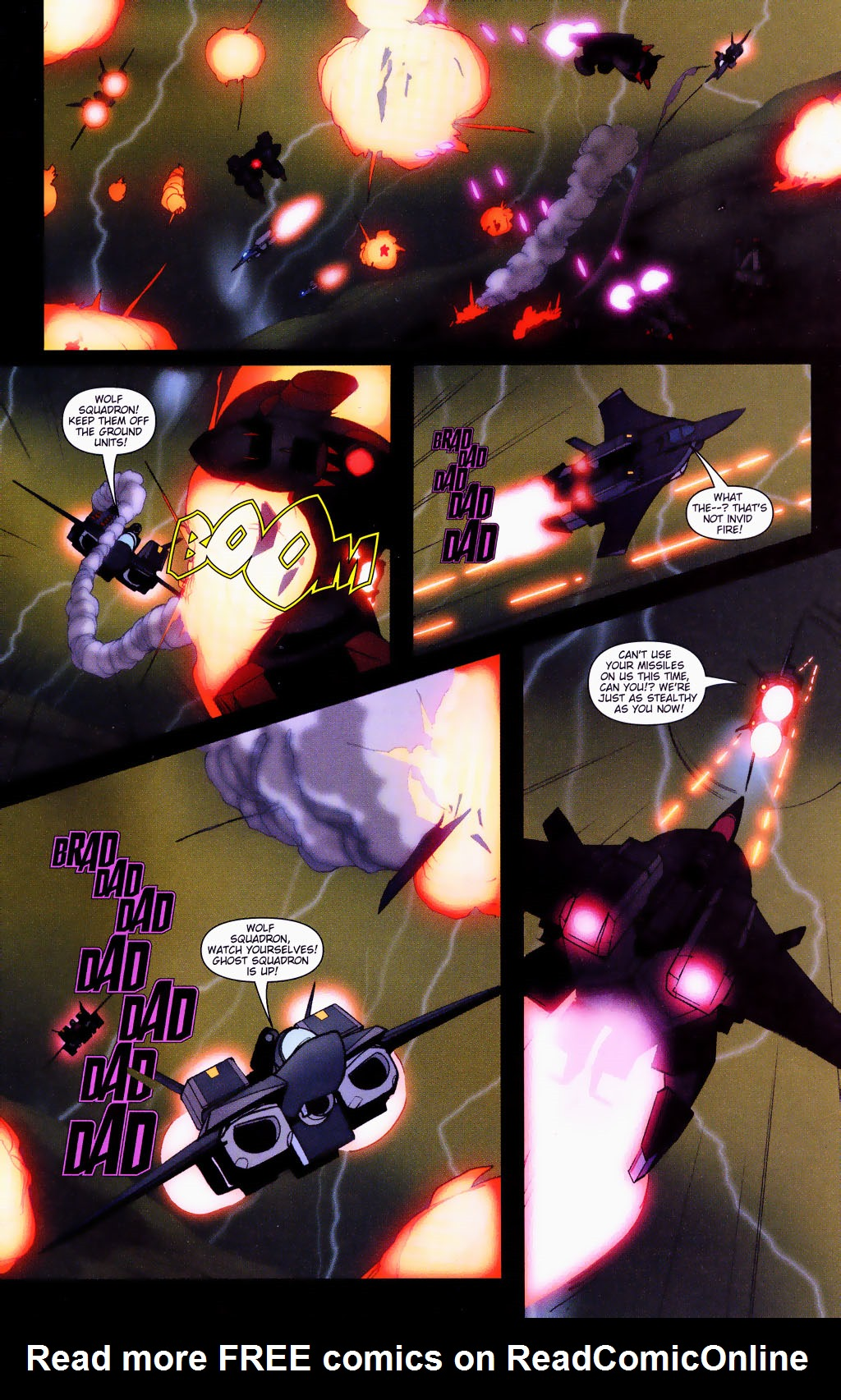 Read online Robotech: Prelude to the Shadow Chronicles comic -  Issue #4 - 8
