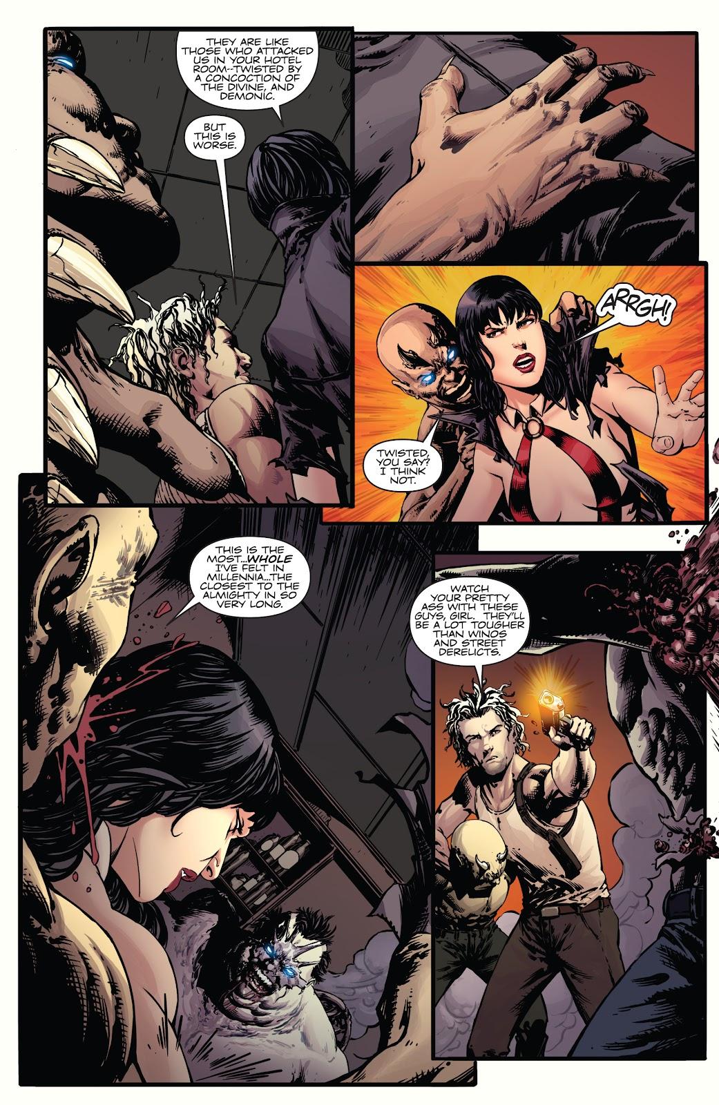Read online Vampirella Strikes comic -  Issue #5 - 17