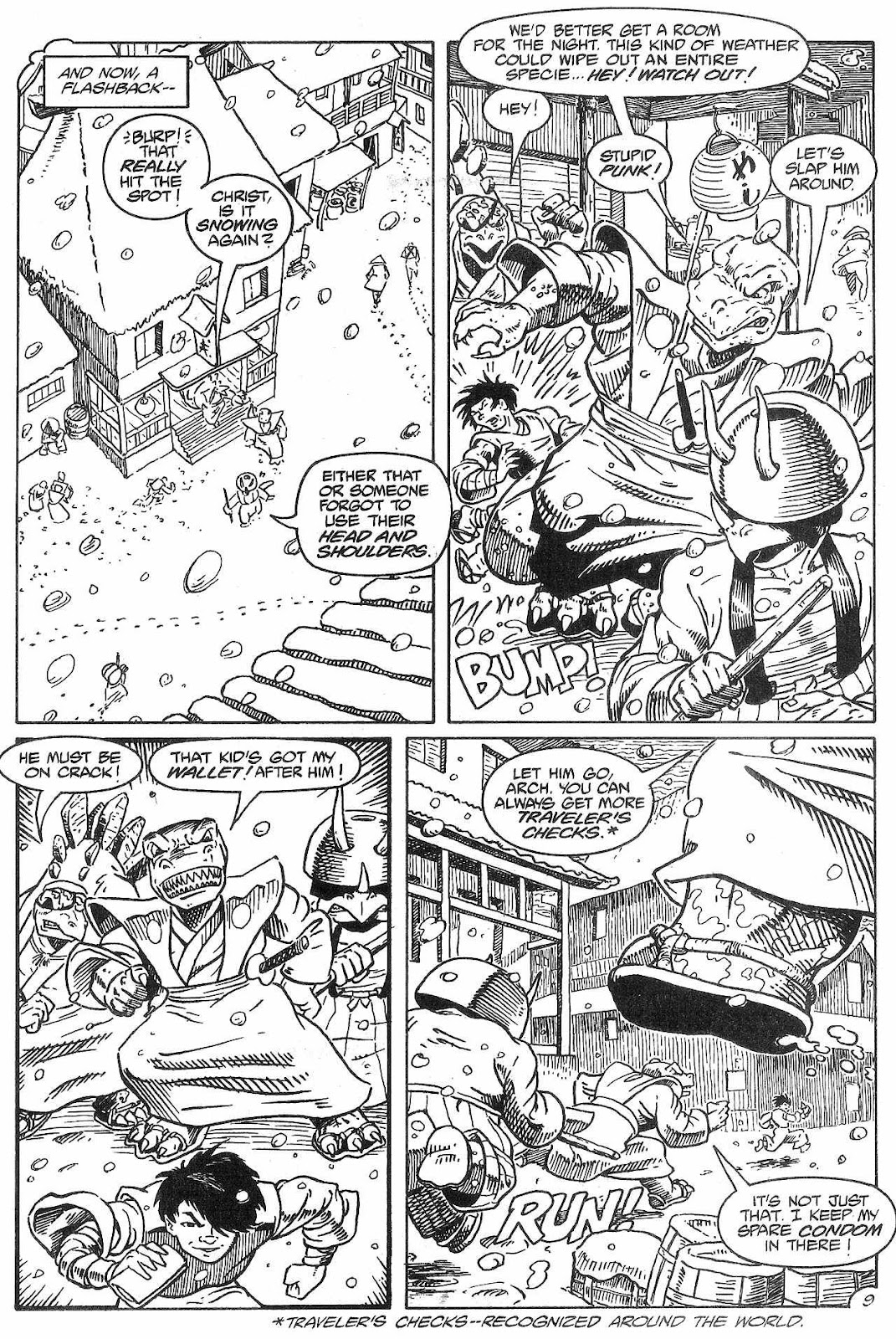 Dinosaurs For Hire (1988) issue 8 - Page 11