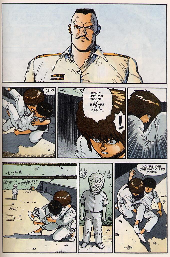 Read online Akira comic -  Issue #15 - 56