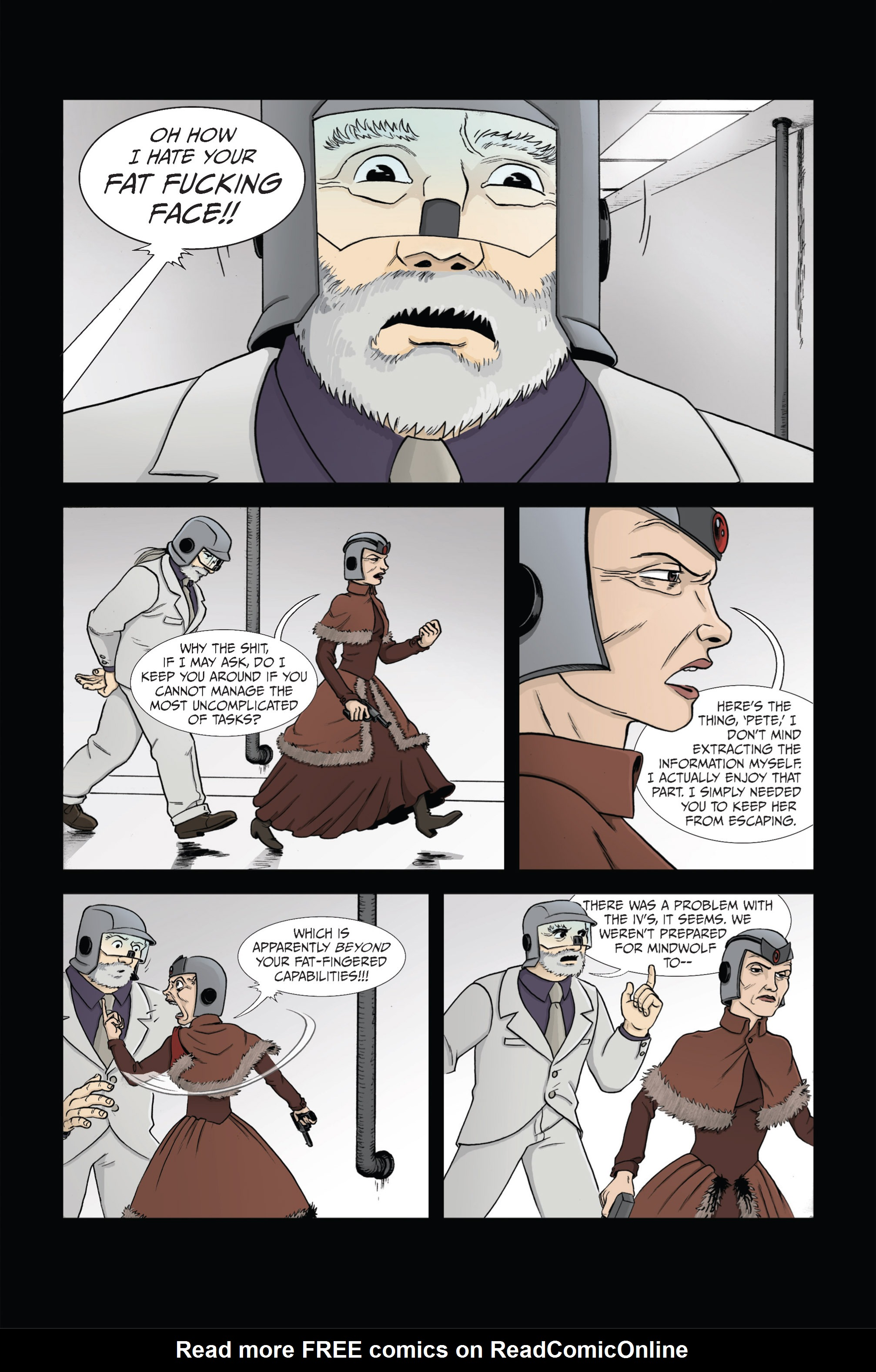 Read online Ehmm Theory: Everything & Small Doses comic -  Issue #4 - 3