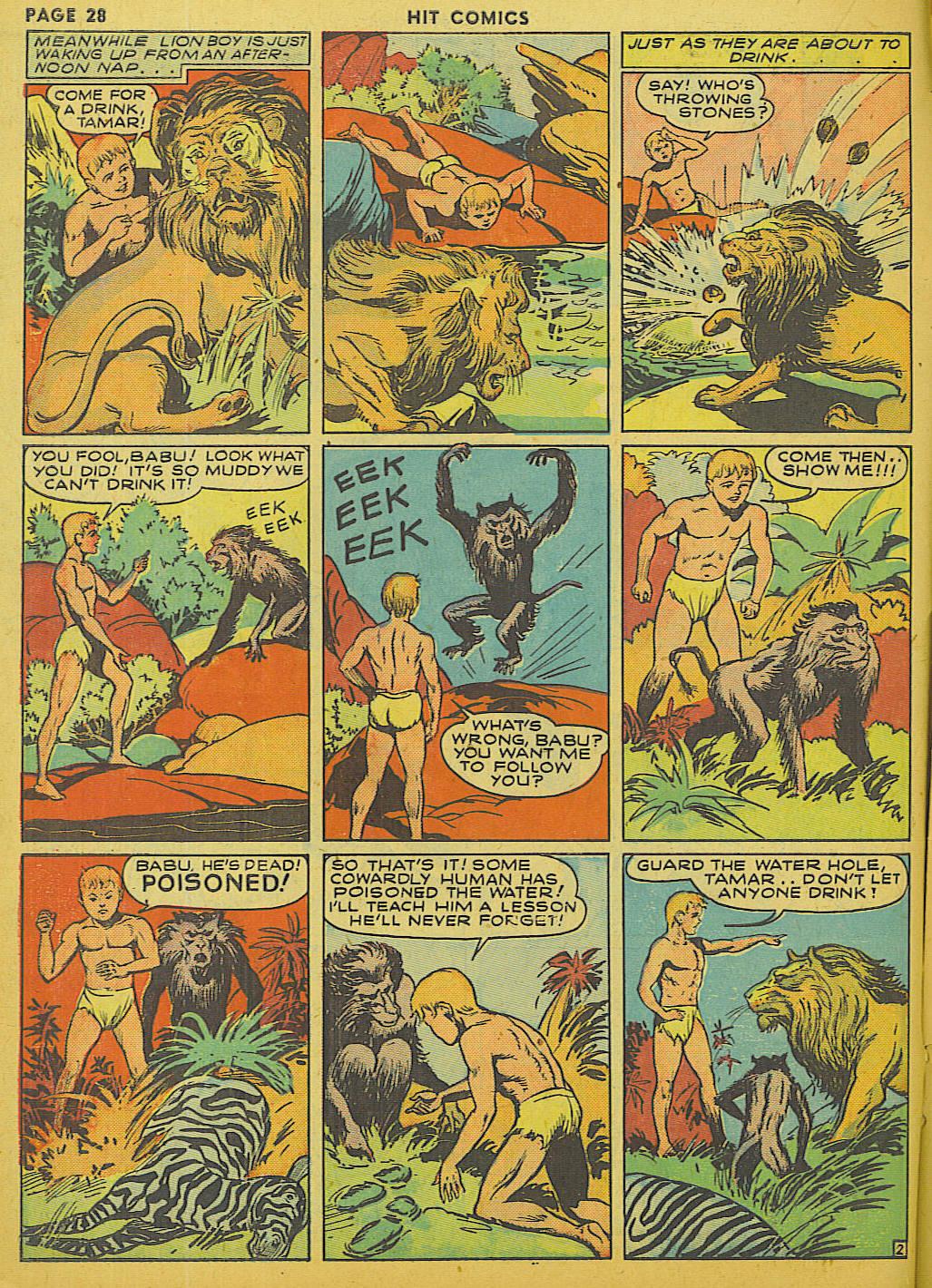Read online Hit Comics comic -  Issue #13 - 30