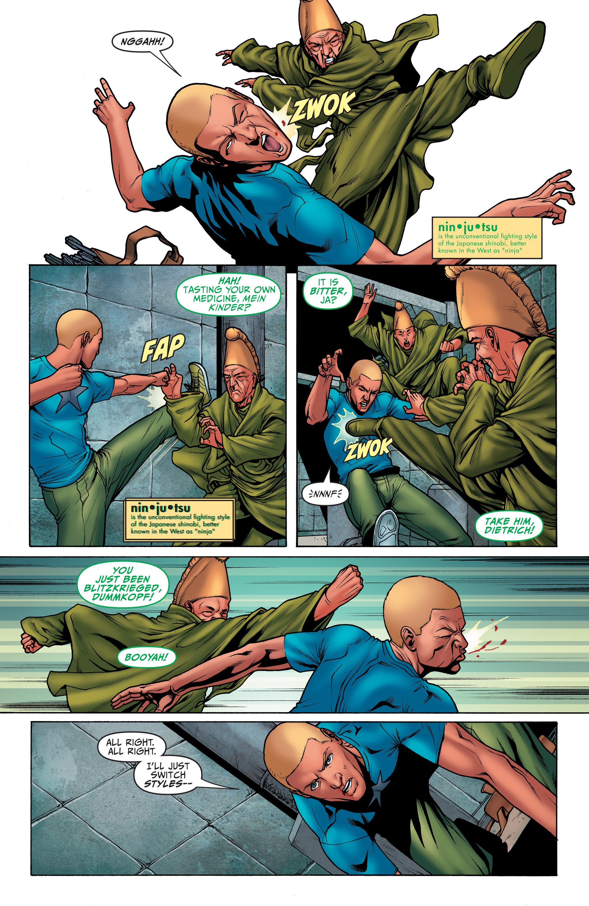 Read online Archer and Armstrong comic -  Issue #4 - 13