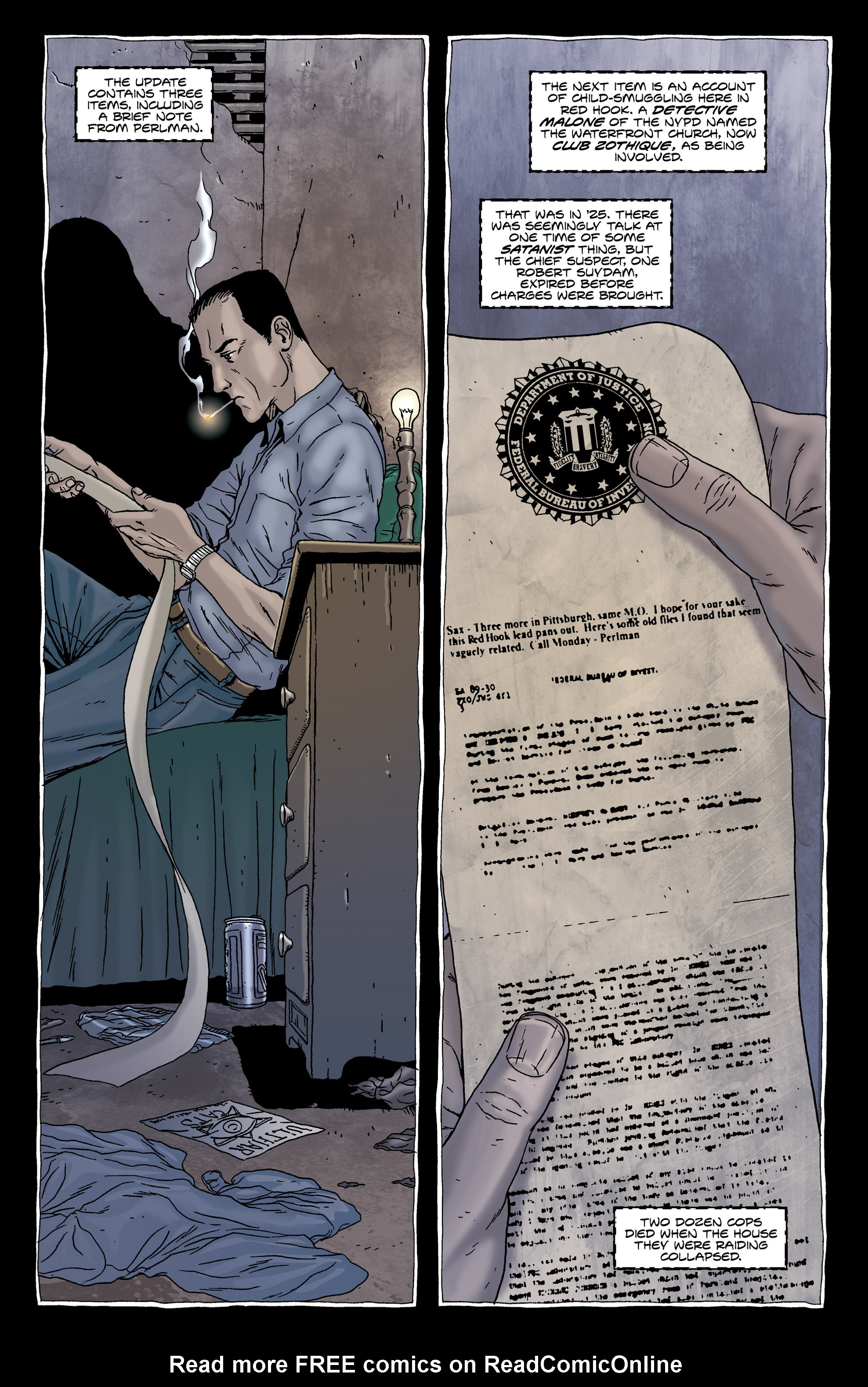 Read online Alan Moore's The Courtyard comic -  Issue # TPB - 27