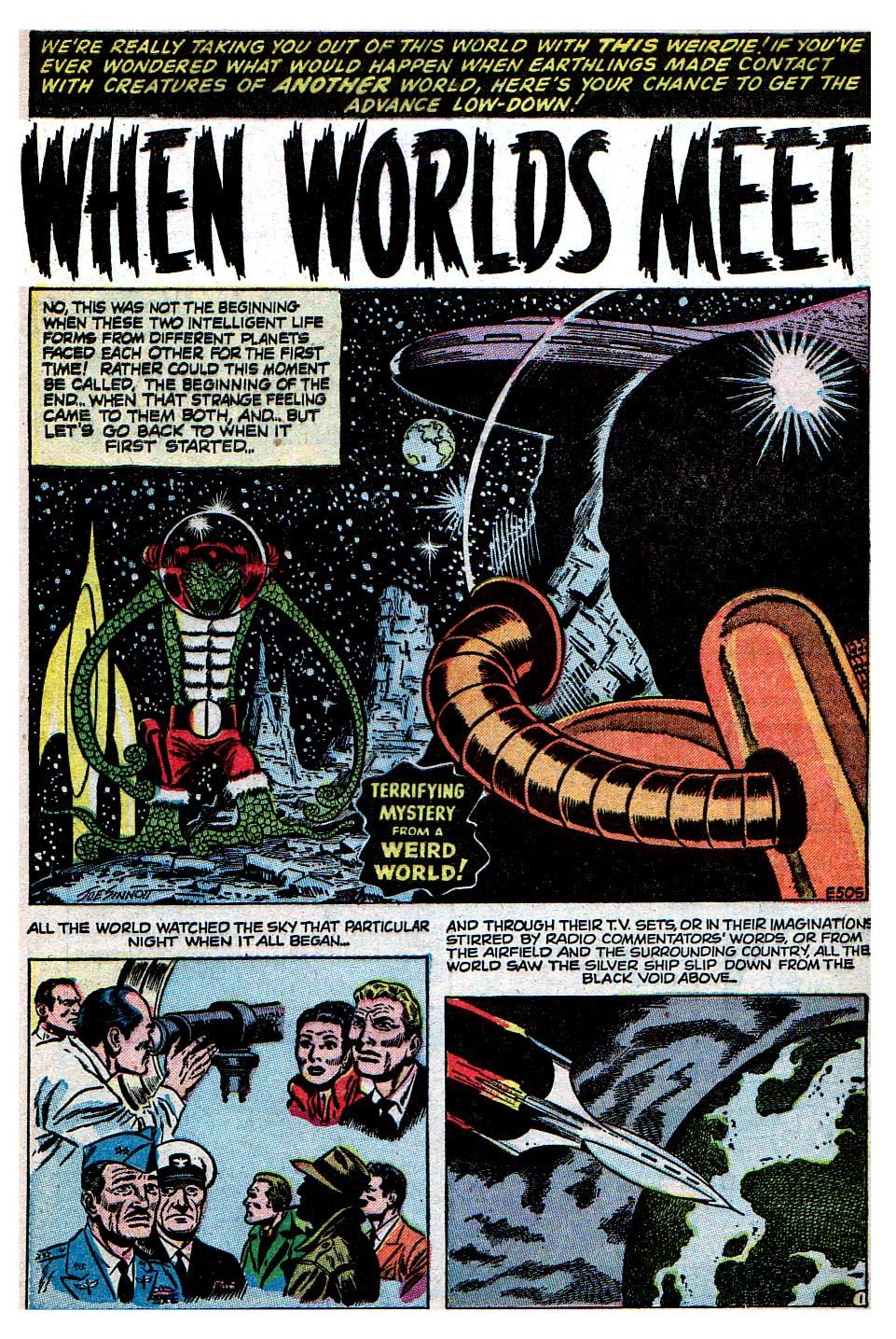 Read online Adventures into Weird Worlds comic -  Issue #30 - 20