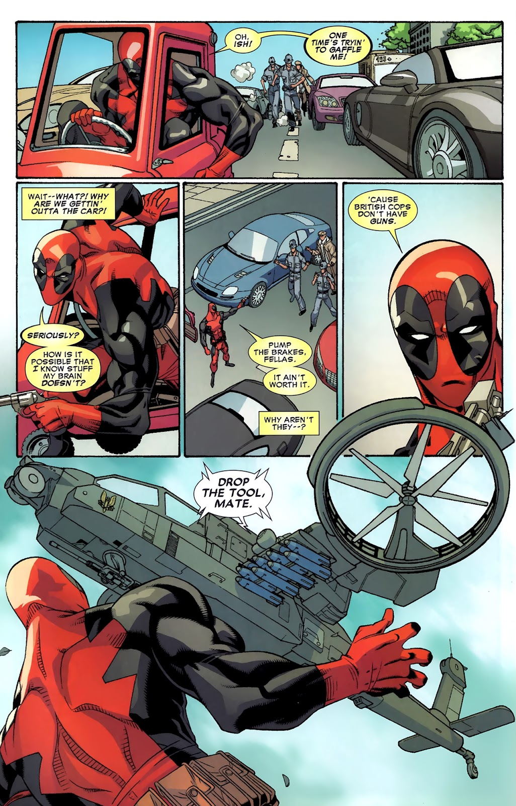 Read online Deadpool (2008) comic -  Issue #43 - 12