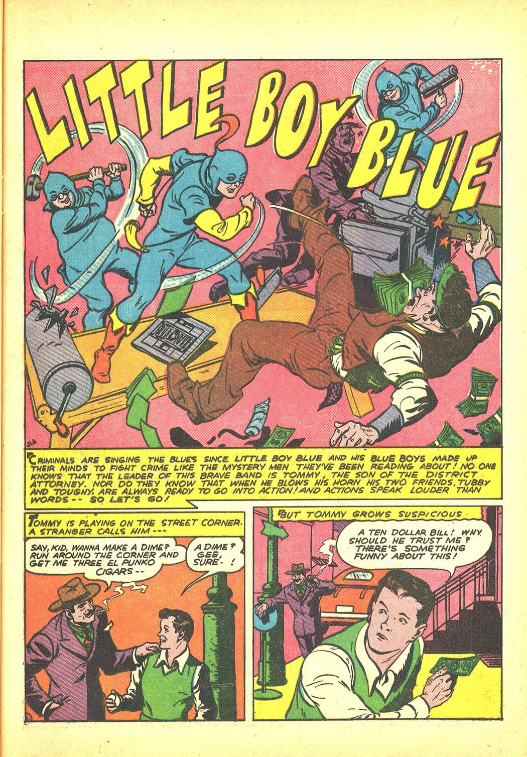 Read online Sensation (Mystery) Comics comic -  Issue #4 - 49