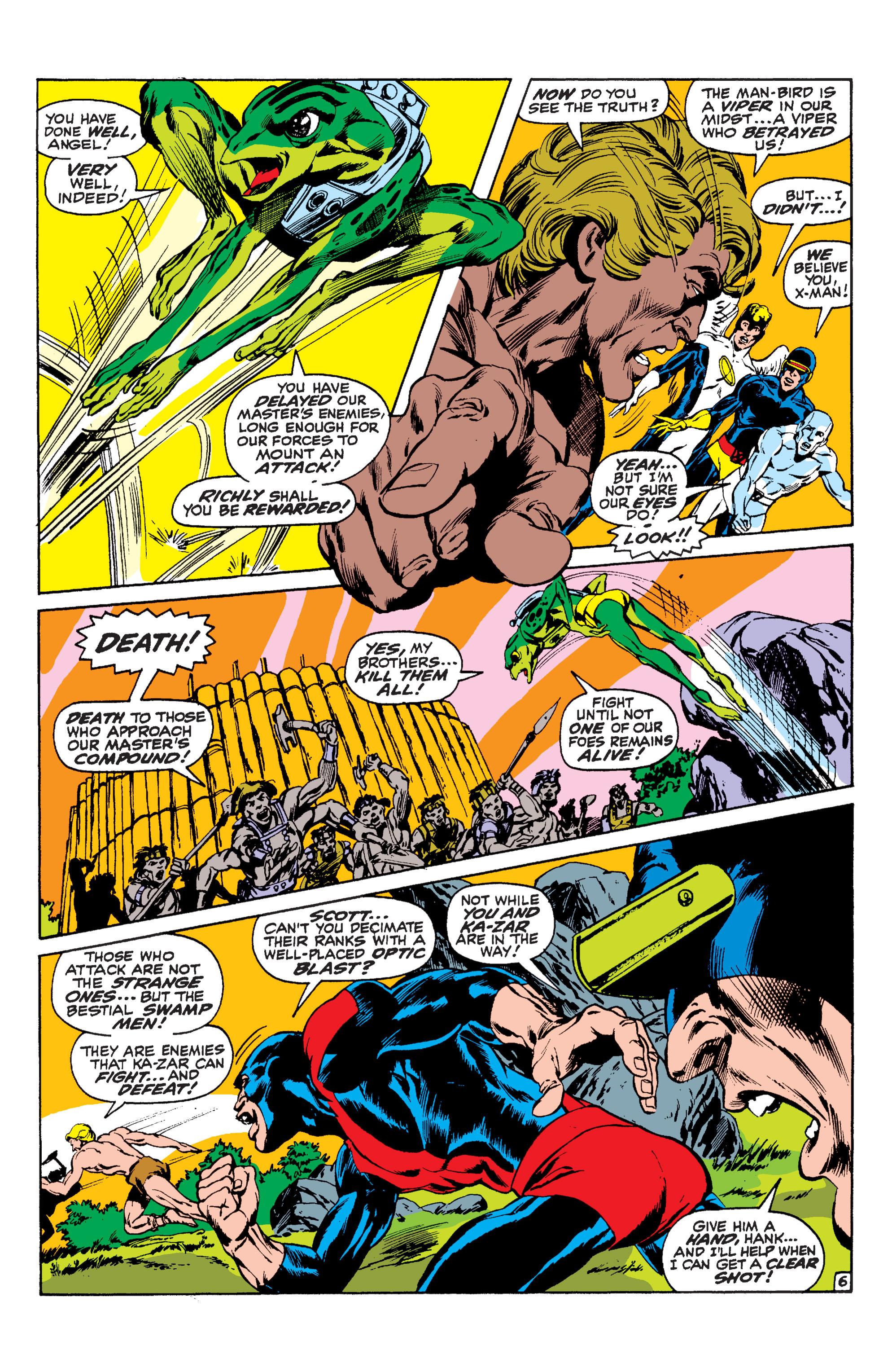 Read online Uncanny X-Men (1963) comic -  Issue #63 - 7