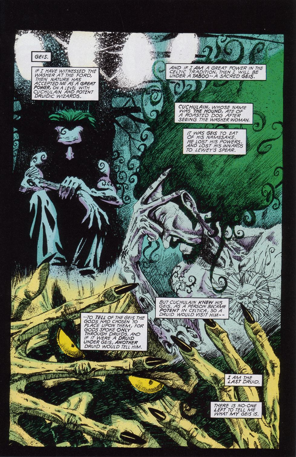 Read online Druid comic -  Issue #2 - 16