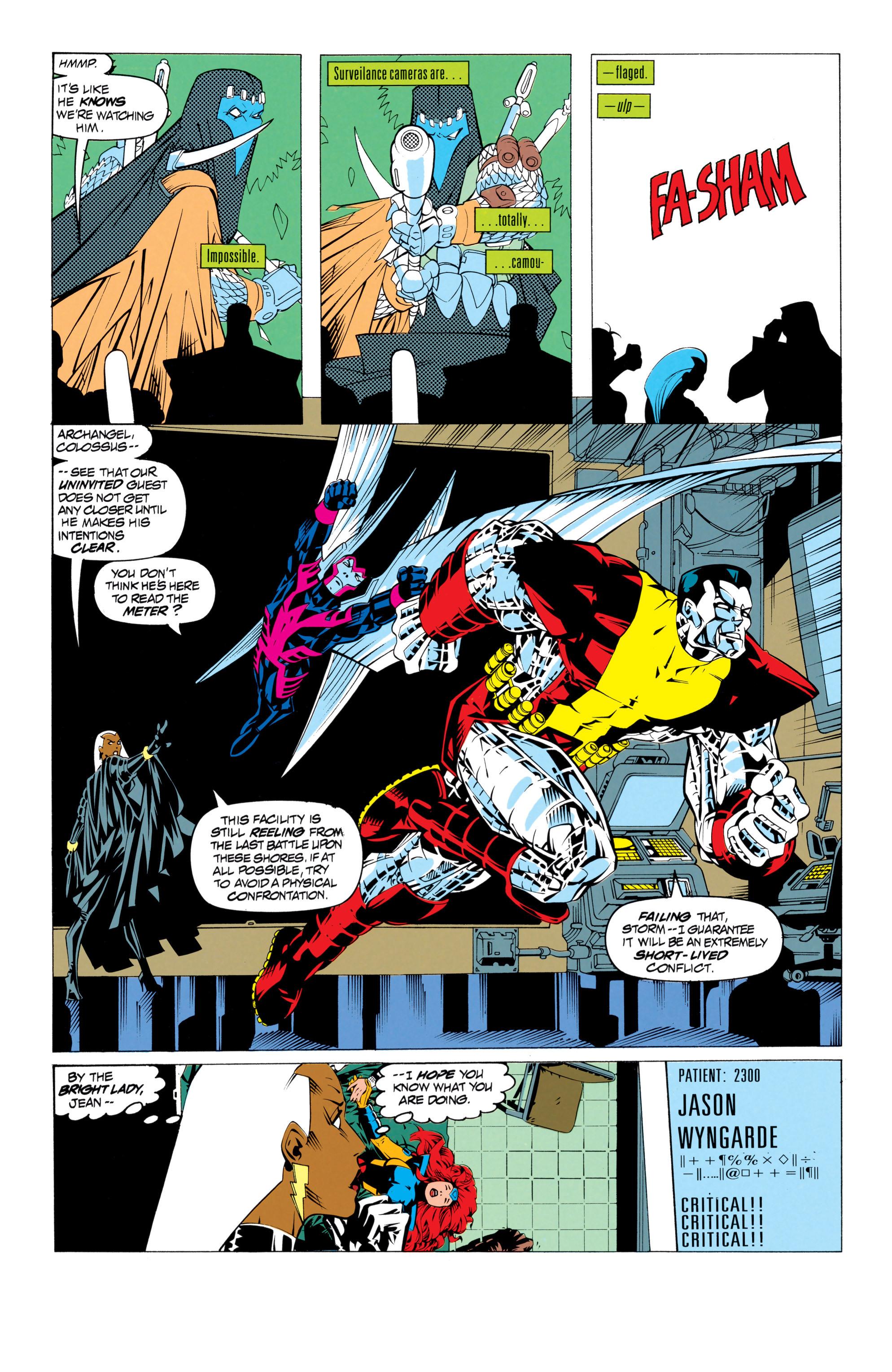 Read online Uncanny X-Men (1963) comic -  Issue # _Annual 17 - 26