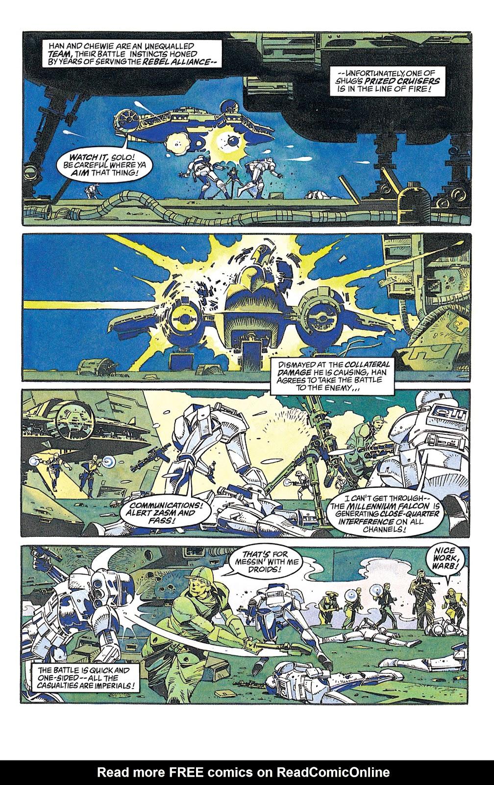 Read online Star Wars: Dark Empire Trilogy comic -  Issue # TPB (Part 2) - 88