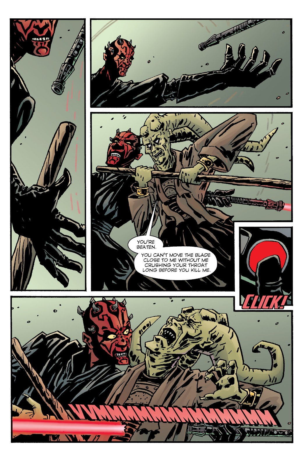 Read online Star Wars Legends: Rise of the Sith - Epic Collection comic -  Issue # TPB 1 (Part 4) - 52