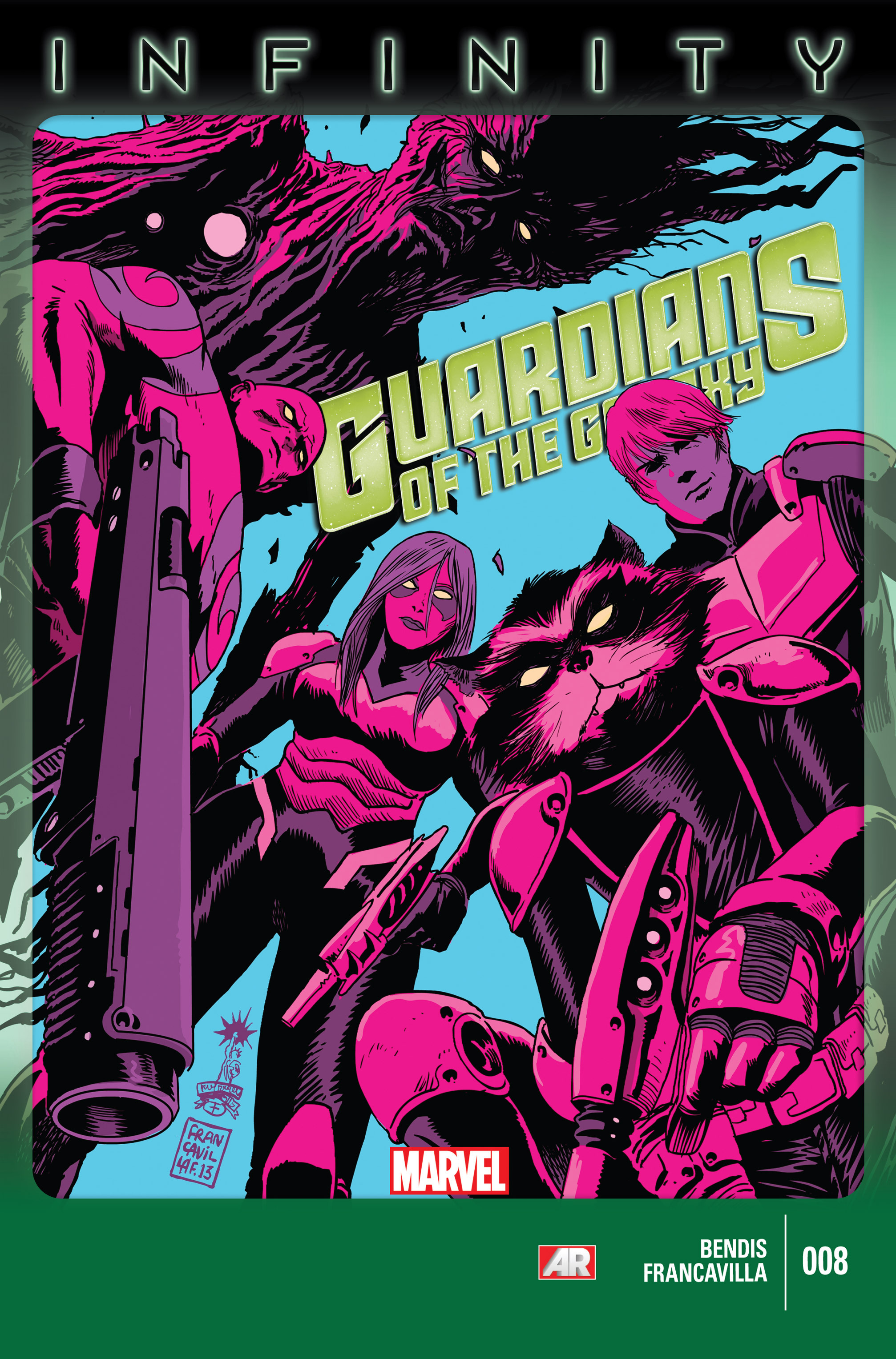 Guardians of the Galaxy (2013) 8 Page 1