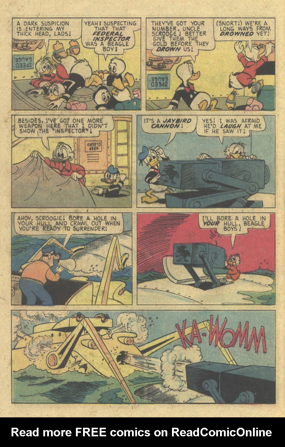 Read online Uncle Scrooge (1953) comic -  Issue #133 - 16