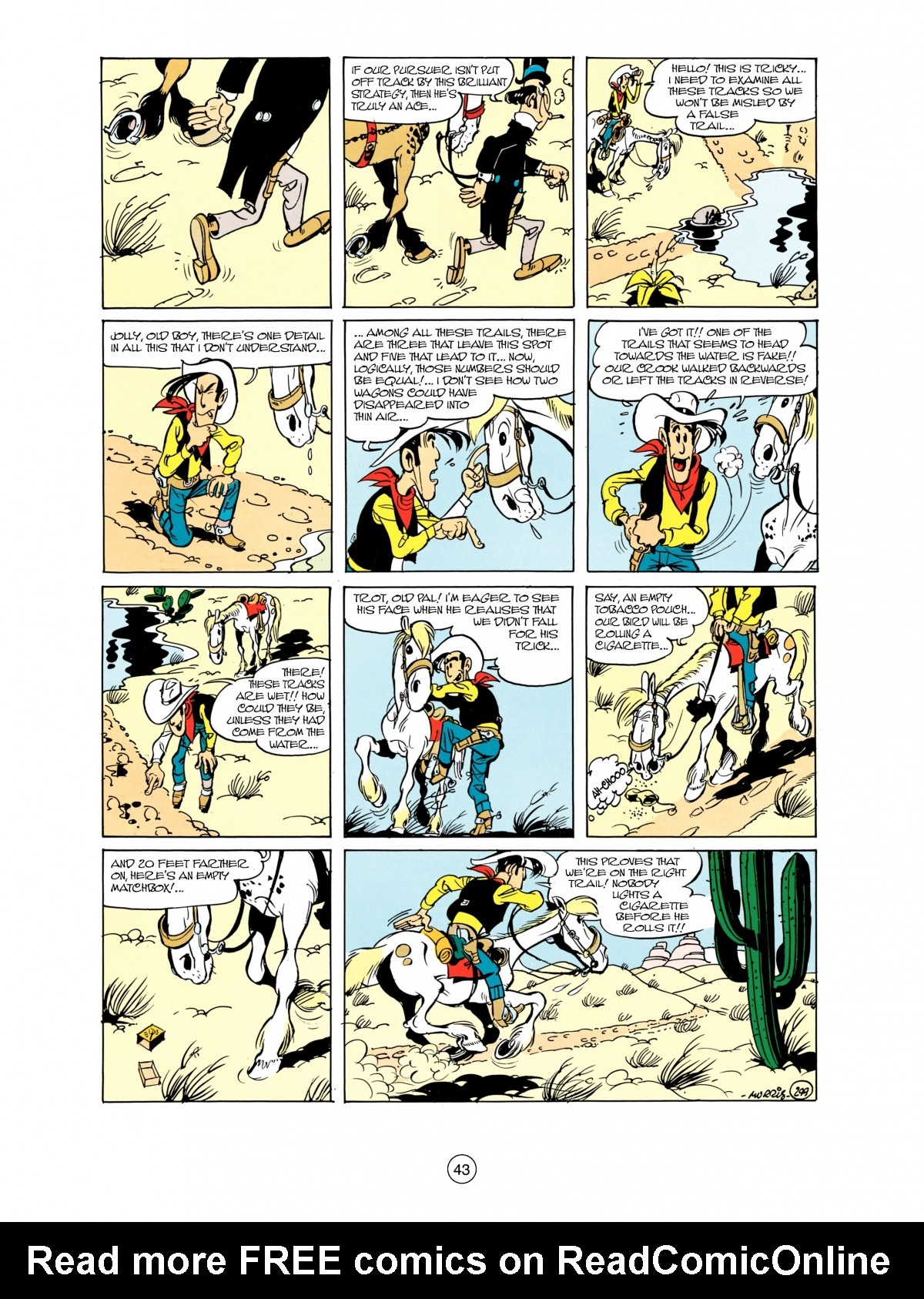 Read online A Lucky Luke Adventure comic -  Issue #38 - 43