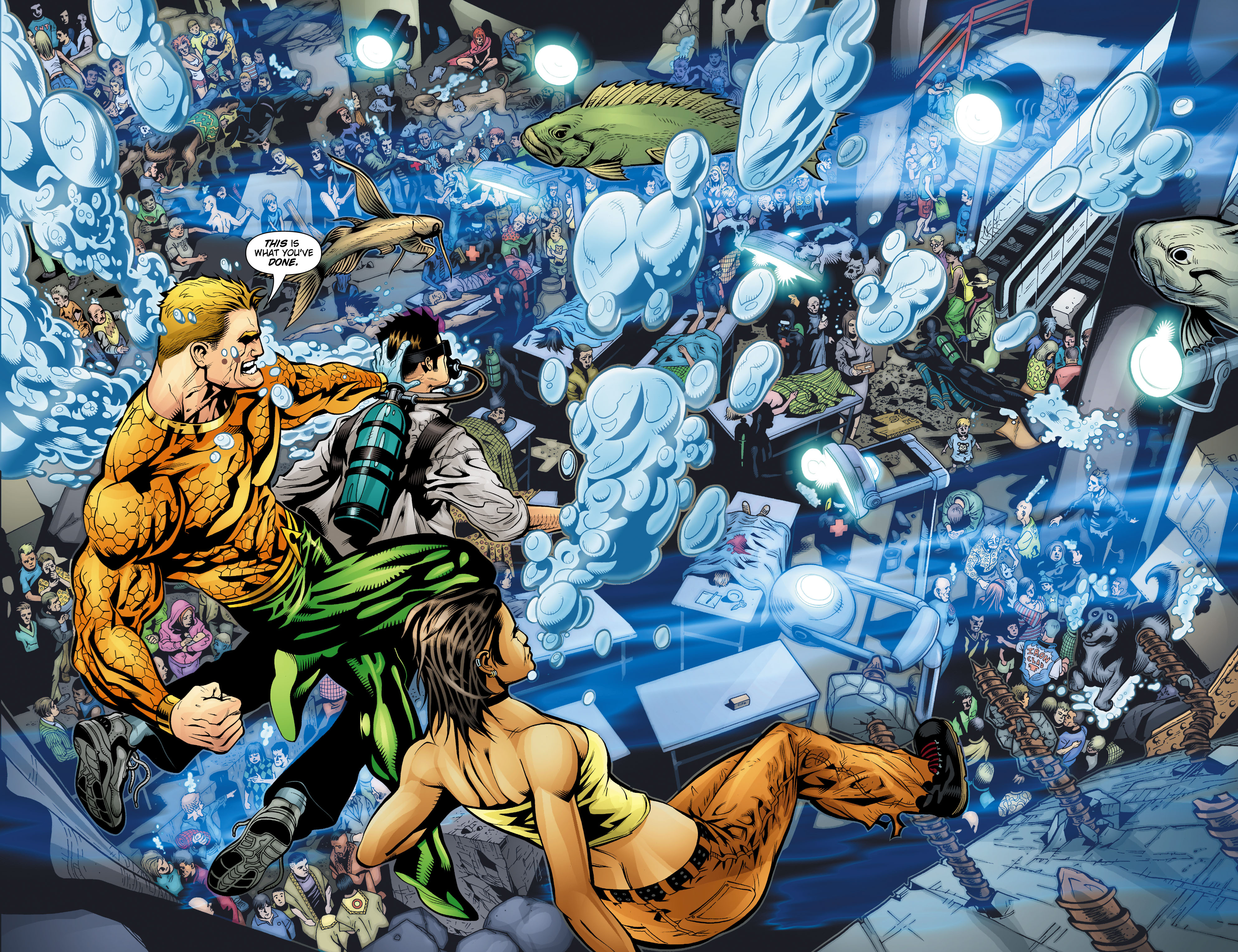 Read online Aquaman (2003) comic -  Issue #20 - 7