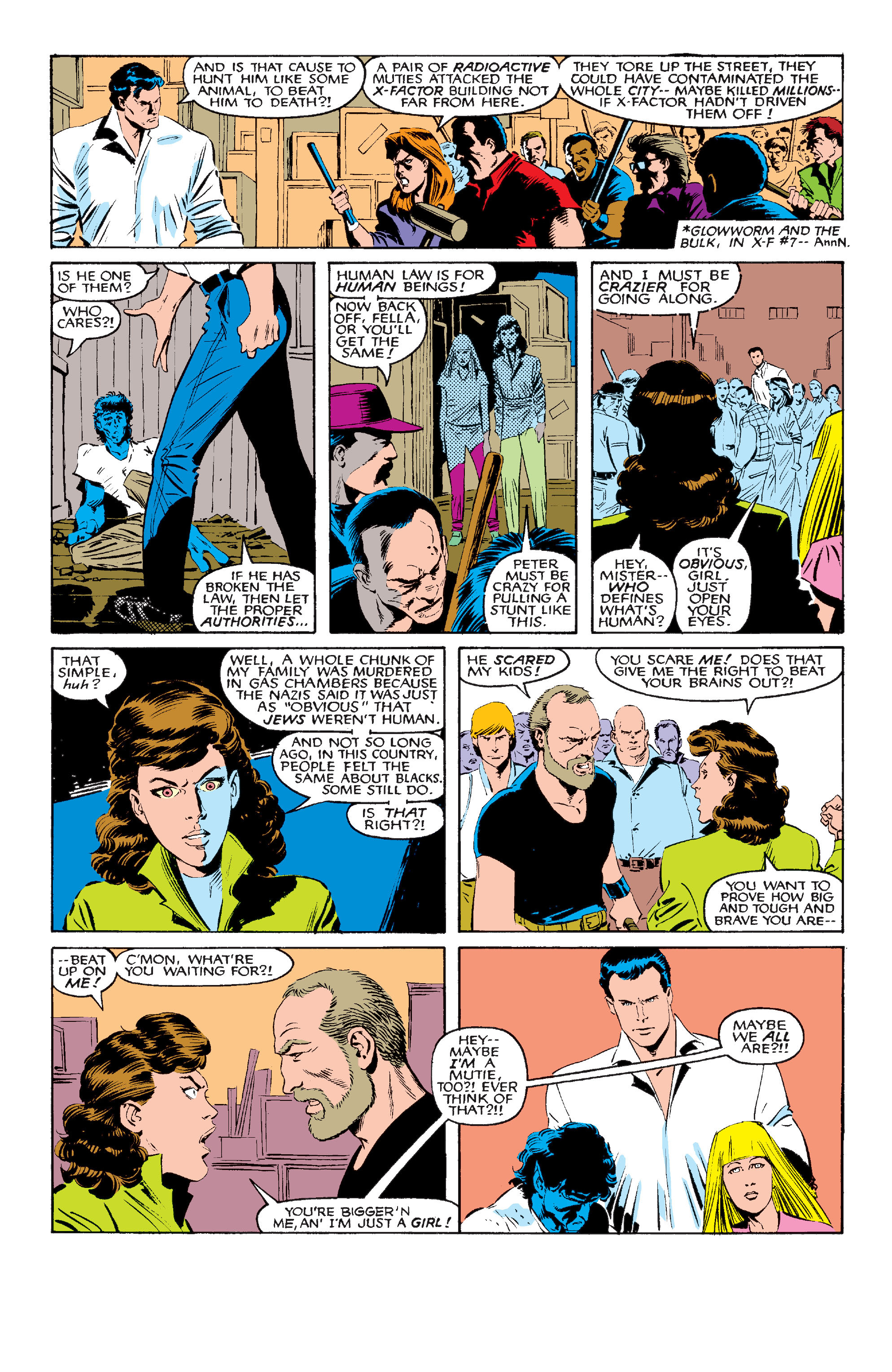 Read online Uncanny X-Men (1963) comic -  Issue #210 - 20