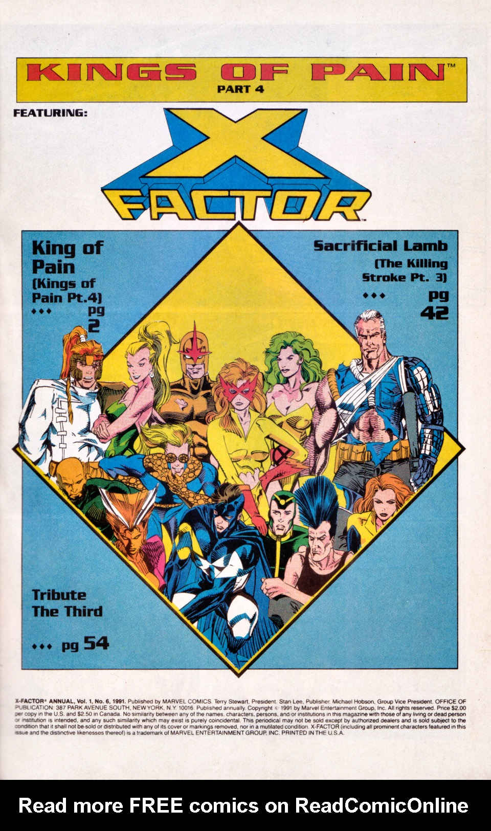 Read online X-Factor (1986) comic -  Issue # _ Annual 6 - 2