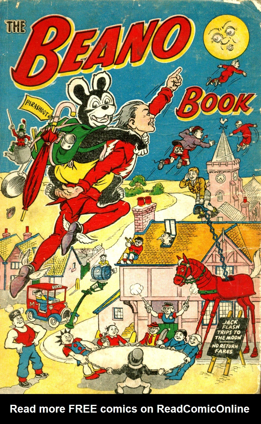 The Beano Book (Annual) 1953 Page 1