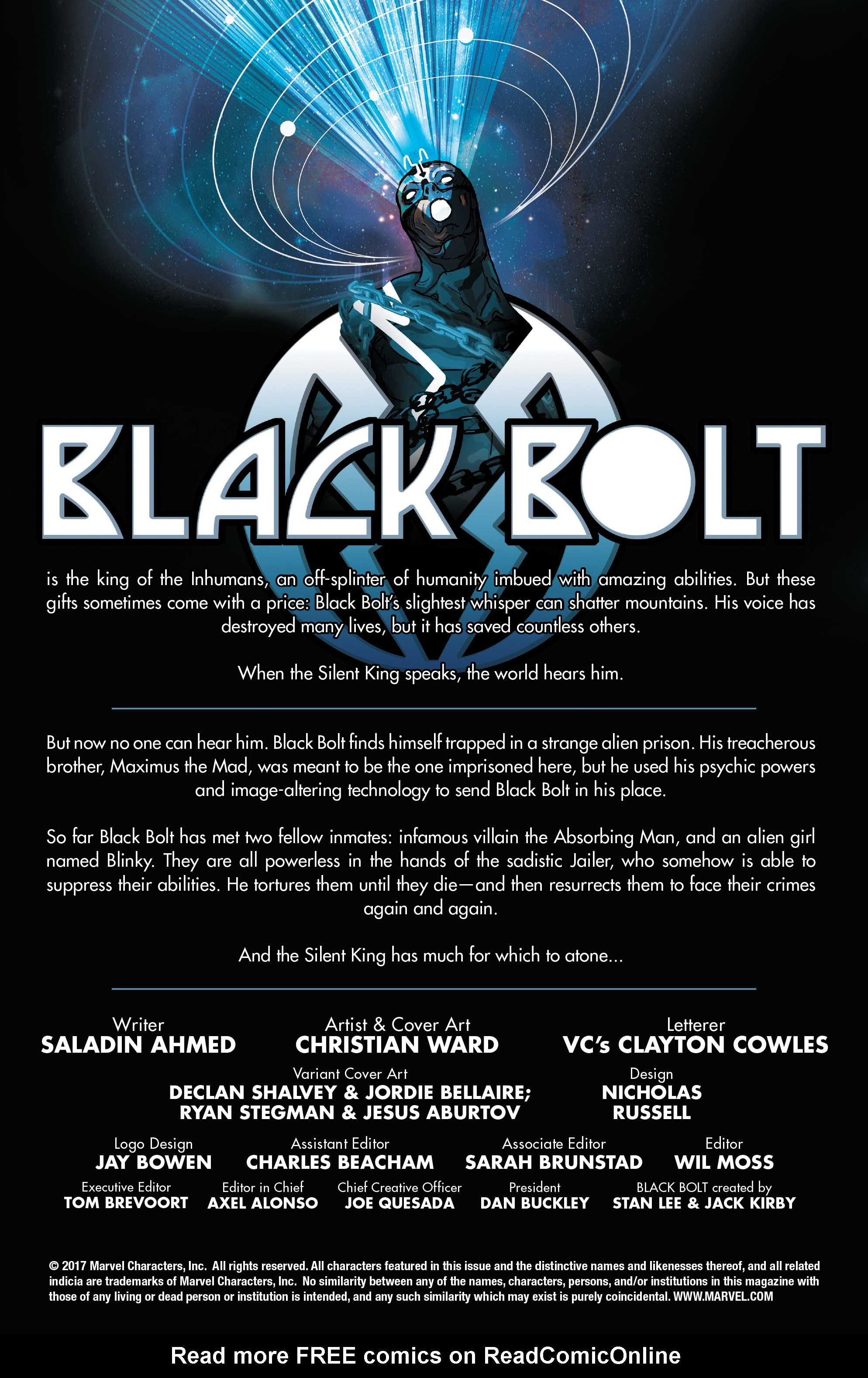 Read online Black Bolt comic -  Issue #2 - 2