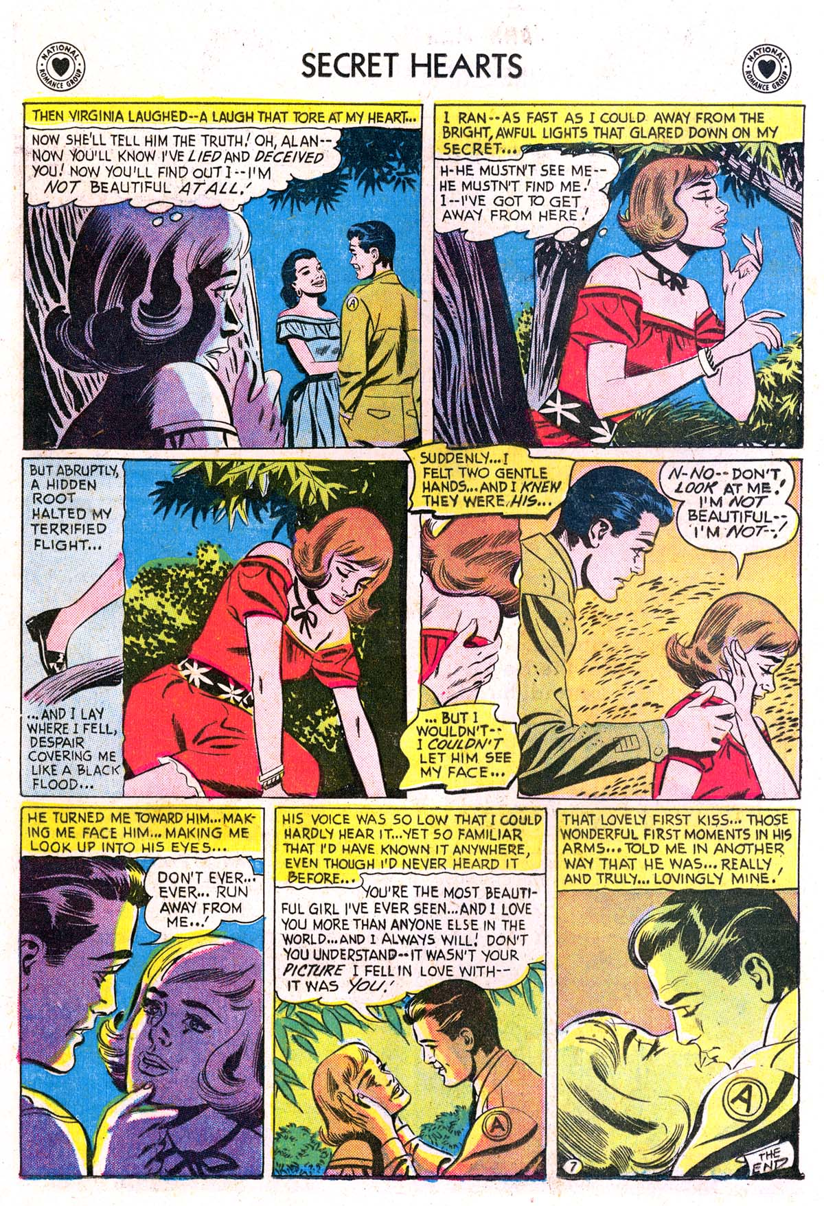 Read online Secret Hearts comic -  Issue #42 - 16