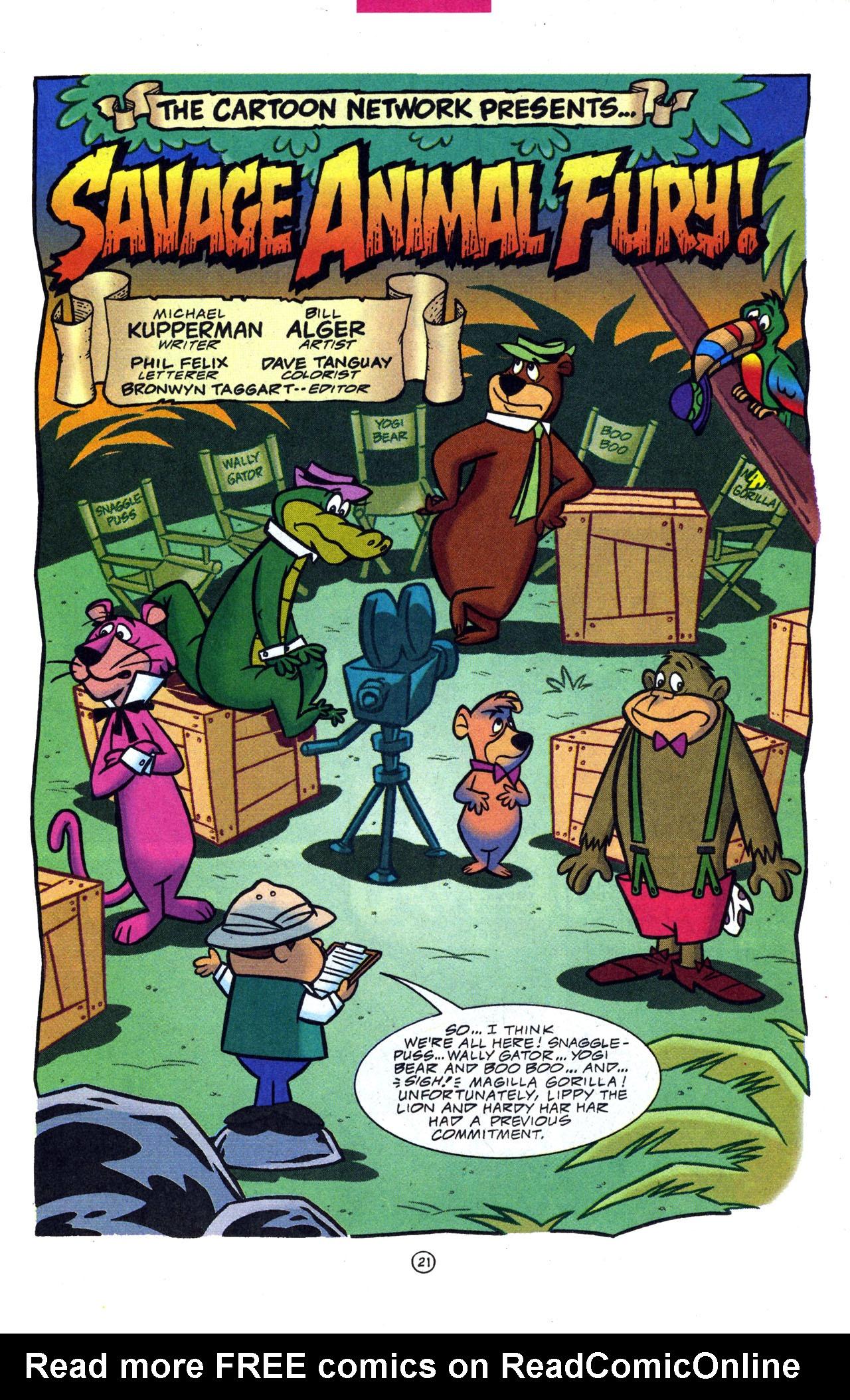 Read Online Cartoon Network Presents Comic Issue 4