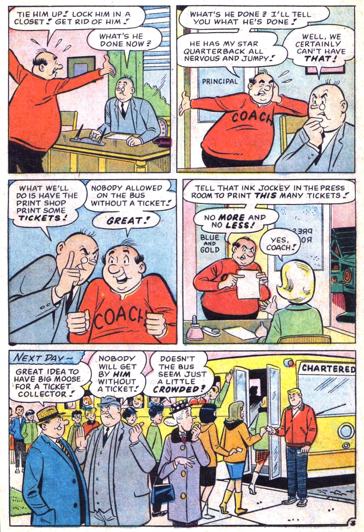 Read online Archie (1960) comic -  Issue #173 - 22