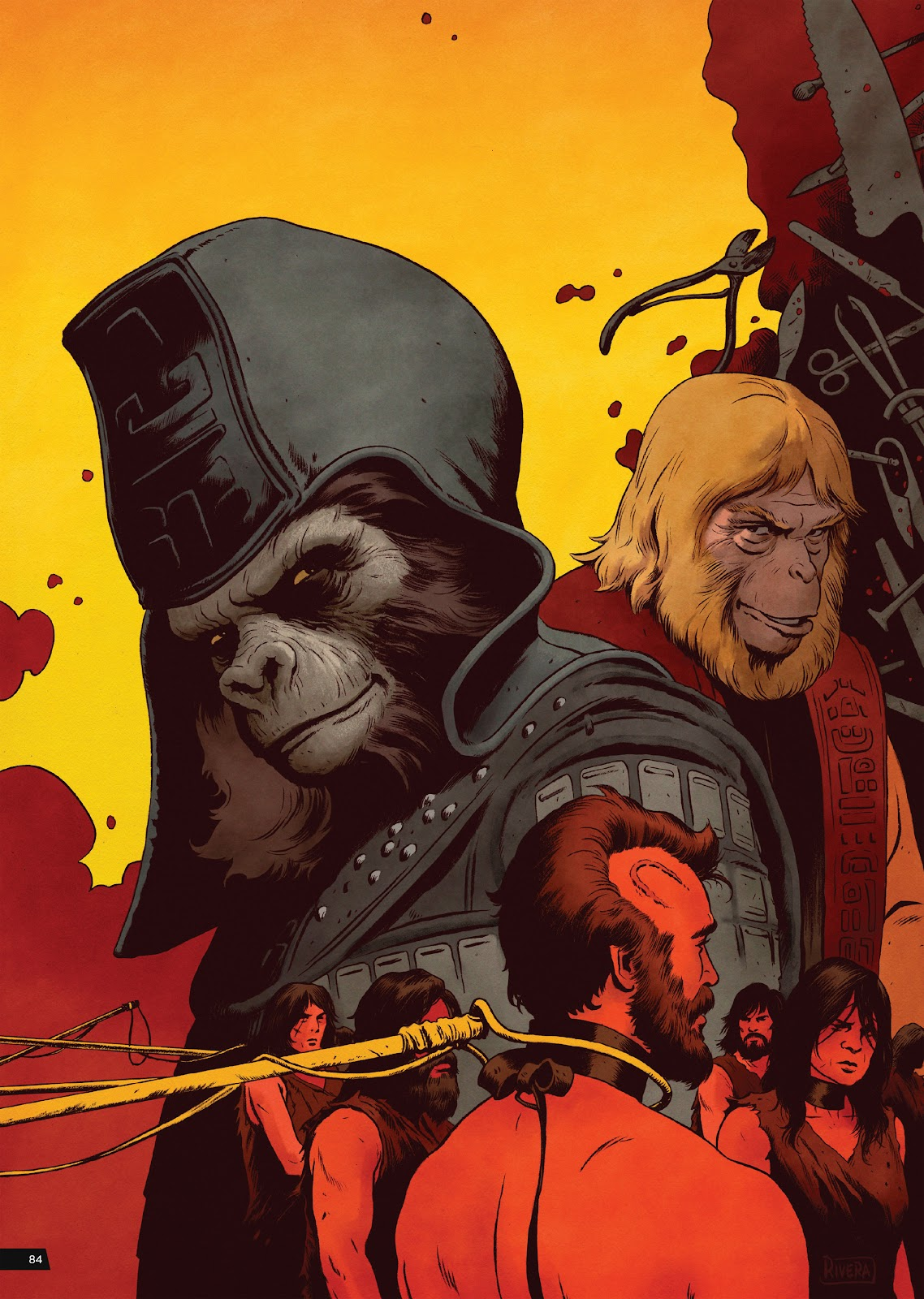 Read online Planet of the Apes Artist Tribute comic -  Issue # TPB - 84