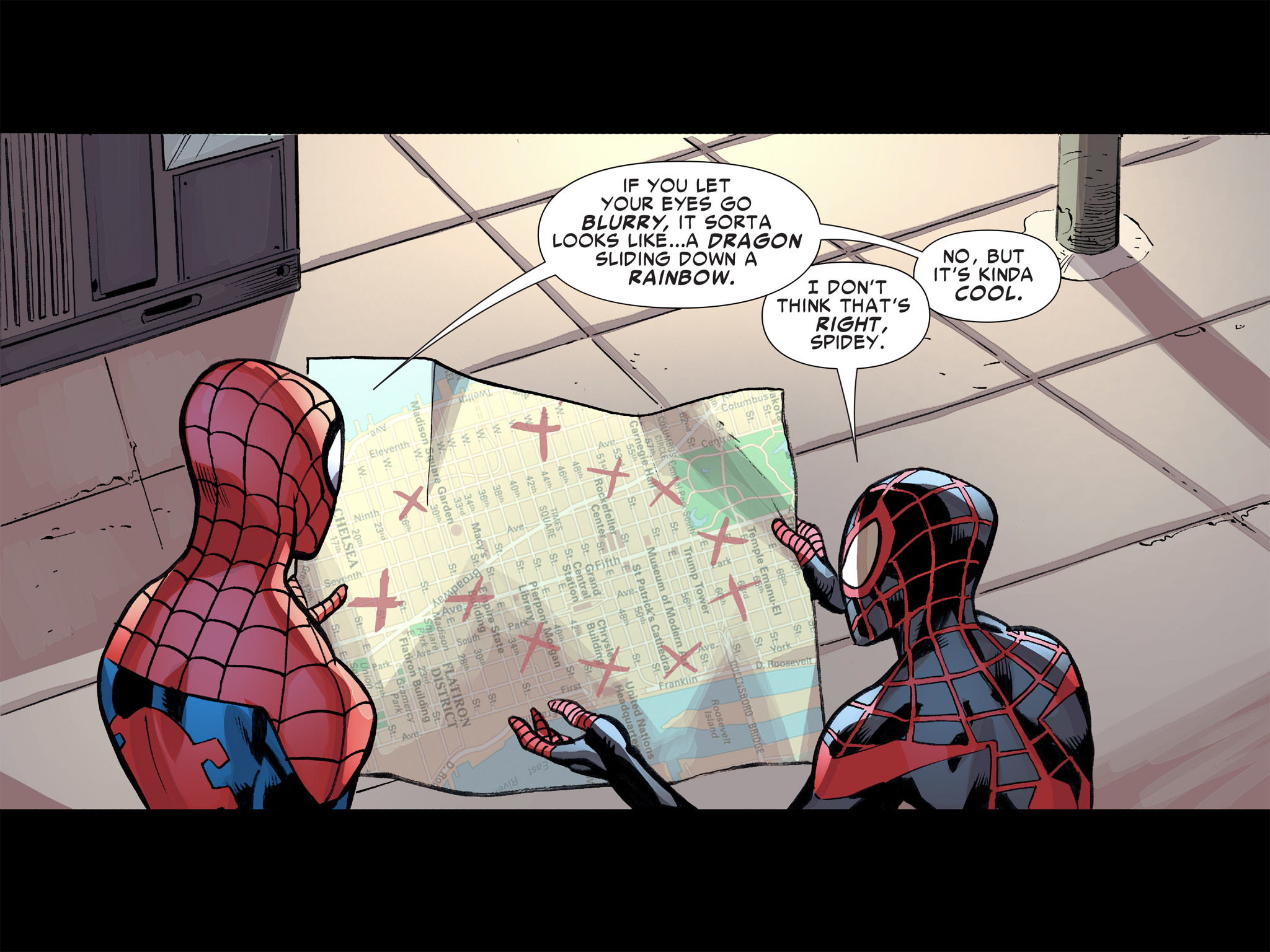 Read online Ultimate Spider-Man (Infinite Comics) (2016) comic -  Issue #8 - 35