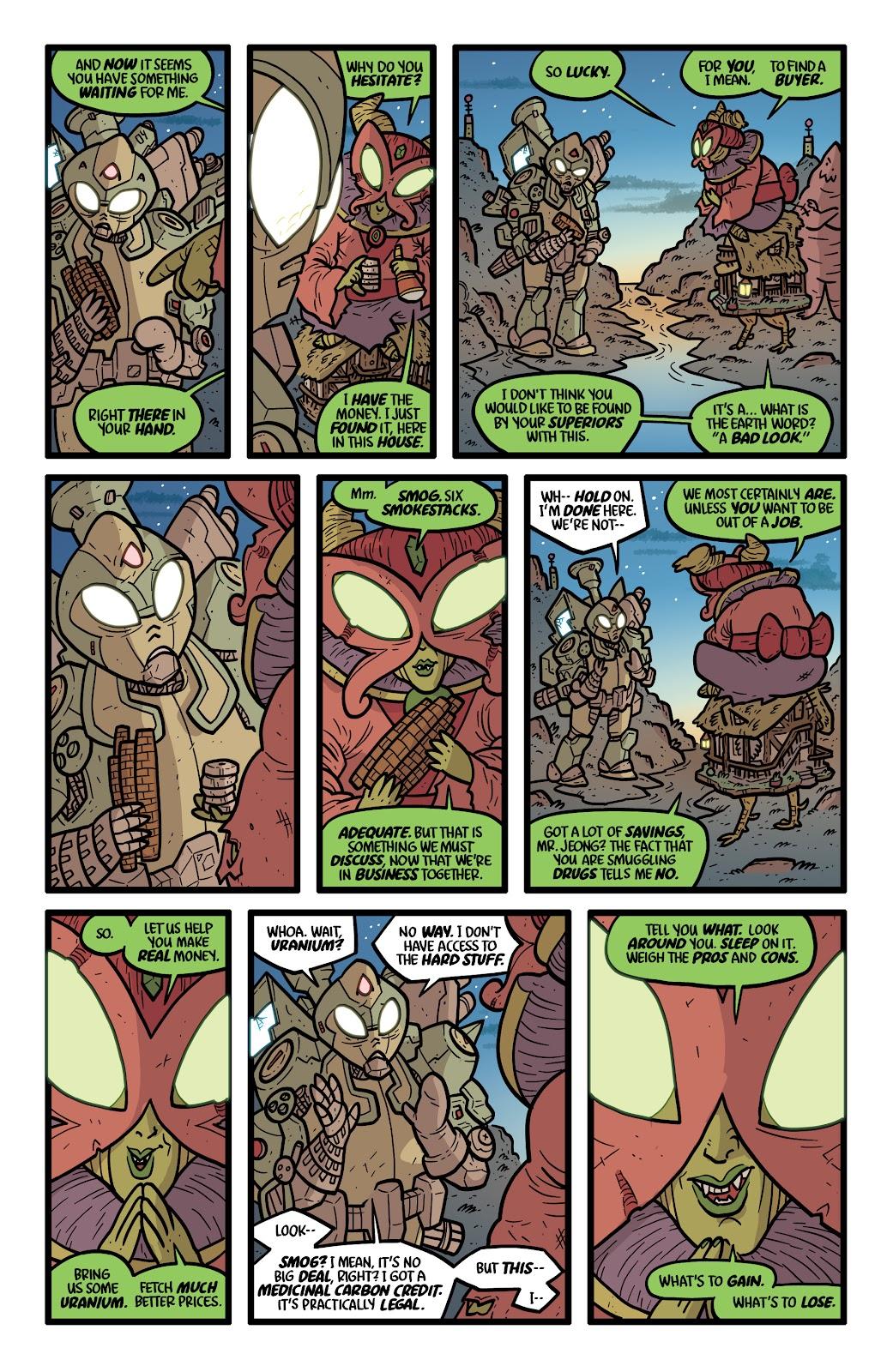 Read online Kaijumax: Season Four comic -  Issue #5 - 7