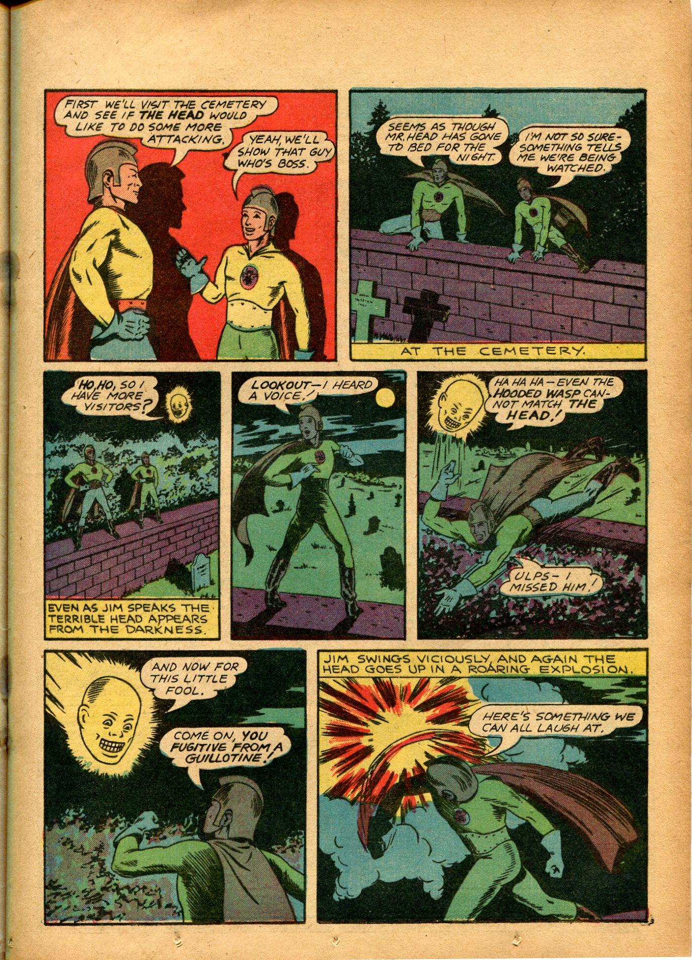 Read online Shadow Comics comic -  Issue #8 - 25