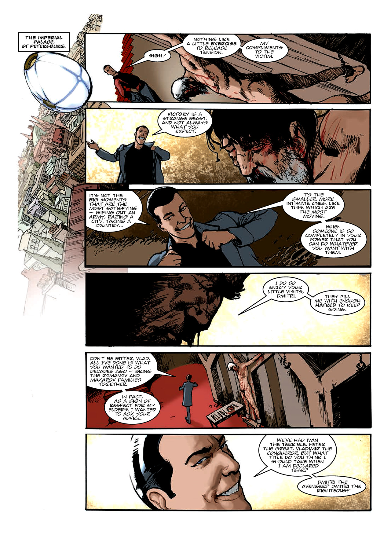 Read online Nikolai Dante comic -  Issue # TPB 10 - 144