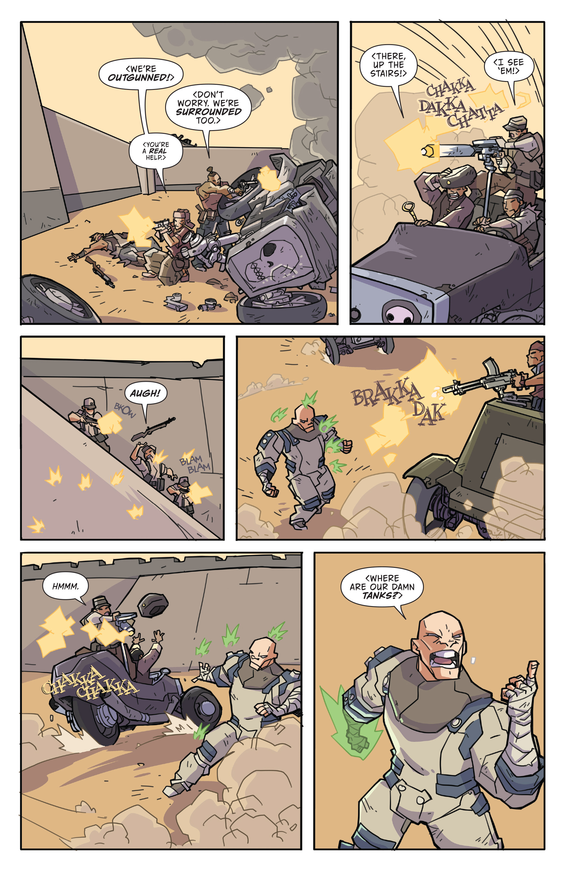 Read online Atomic Robo and the Temple of Od comic -  Issue #2 - 19