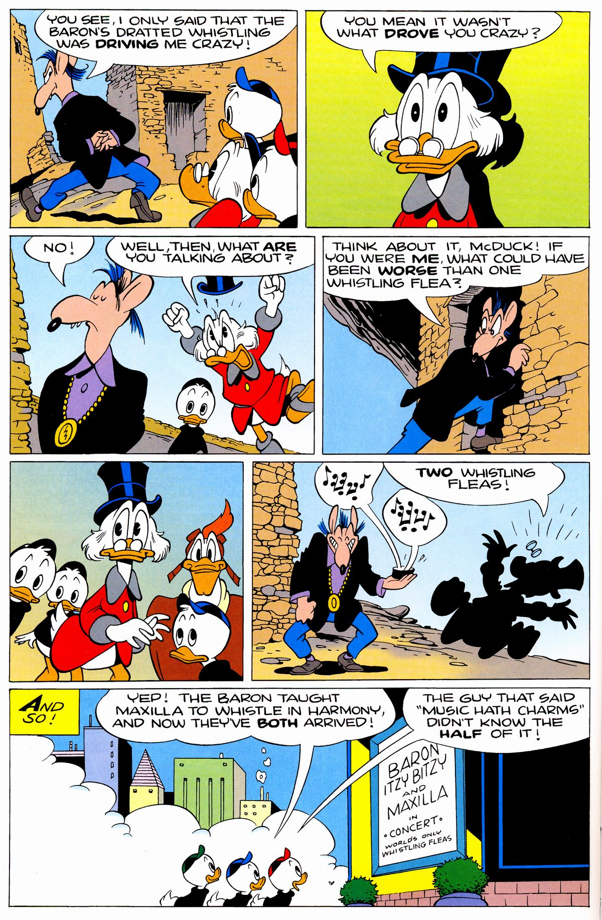 Read online Uncle Scrooge (1953) comic -  Issue #326 - 54