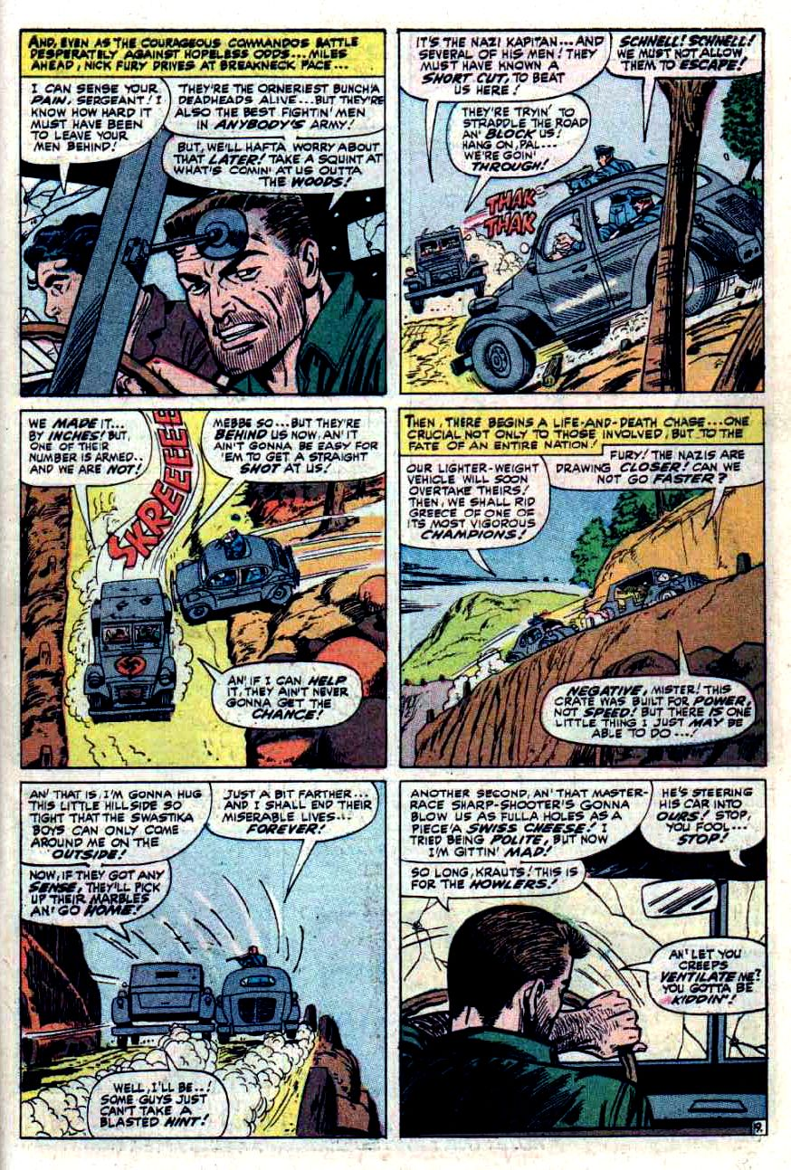 Read online Sgt. Fury comic -  Issue #33 - 27