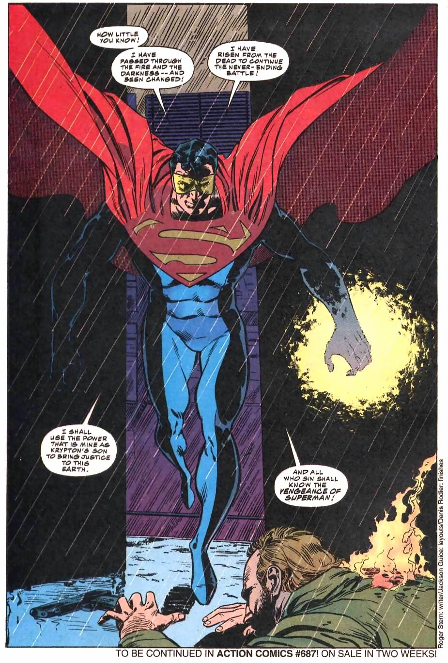 Read online Adventures of Superman (1987) comic -  Issue #500 - 60