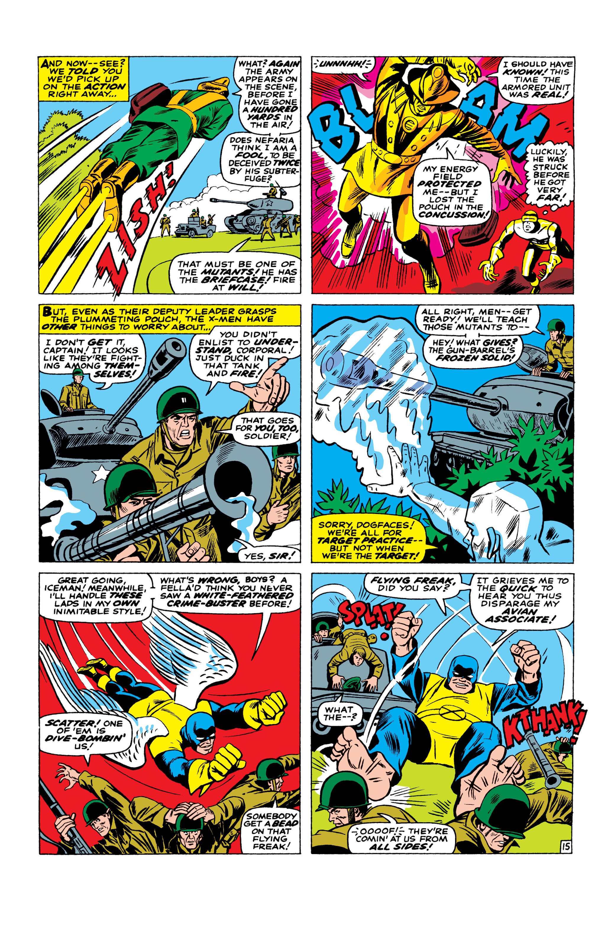 Read online Uncanny X-Men (1963) comic -  Issue #23 - 16
