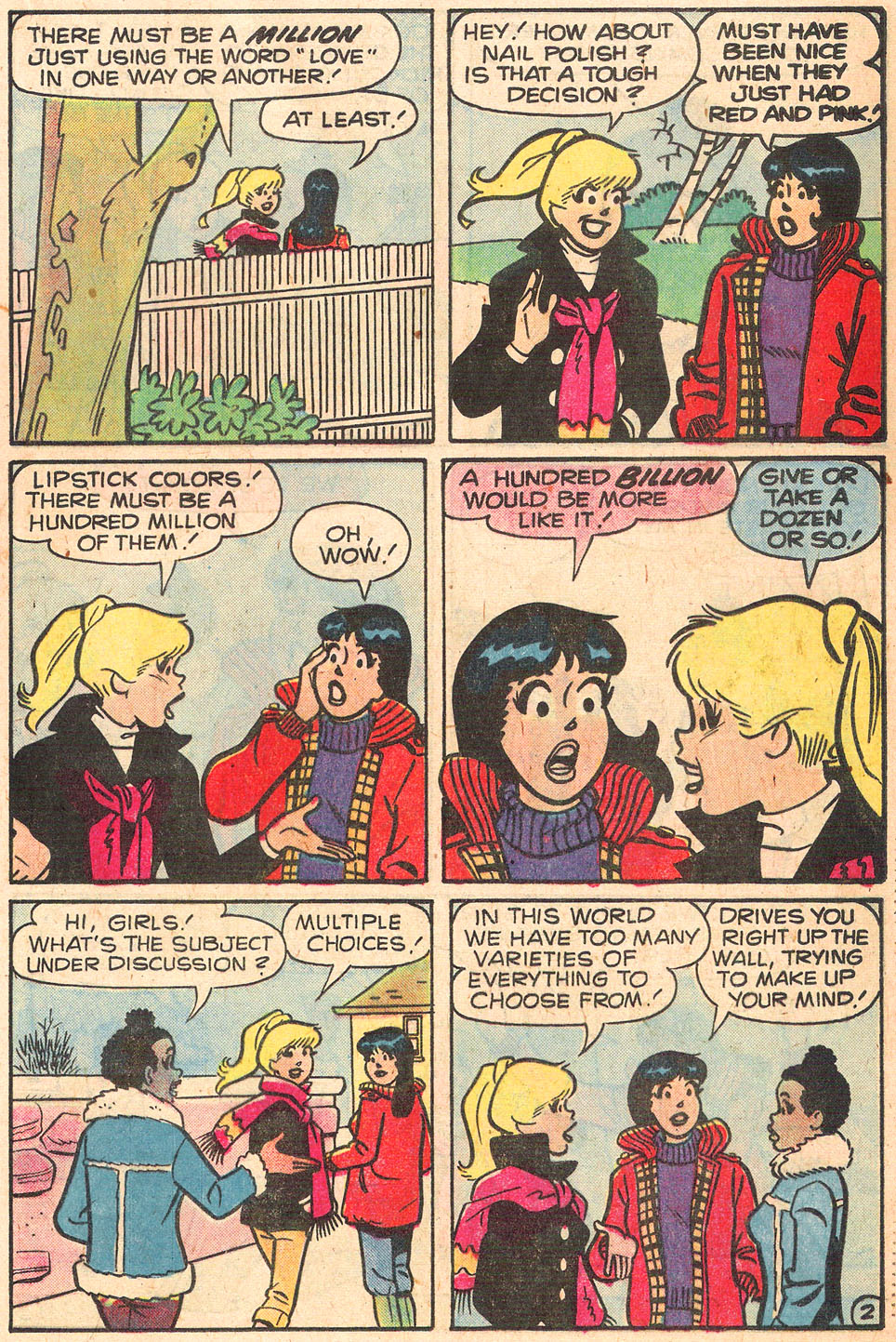 Read online Archie's Girls Betty and Veronica comic -  Issue #278 - 21