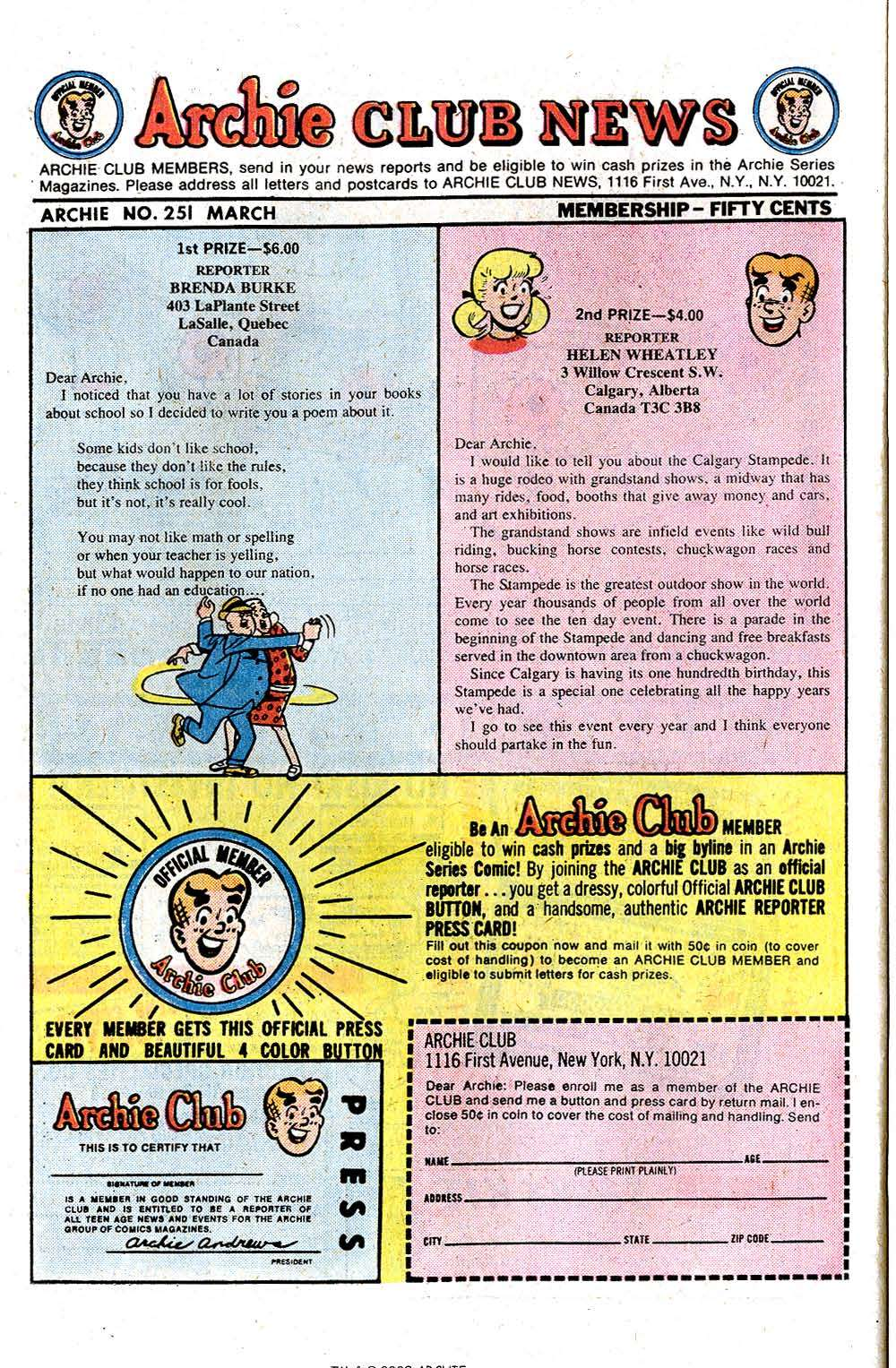 Read online Archie (1960) comic -  Issue #251 - 26