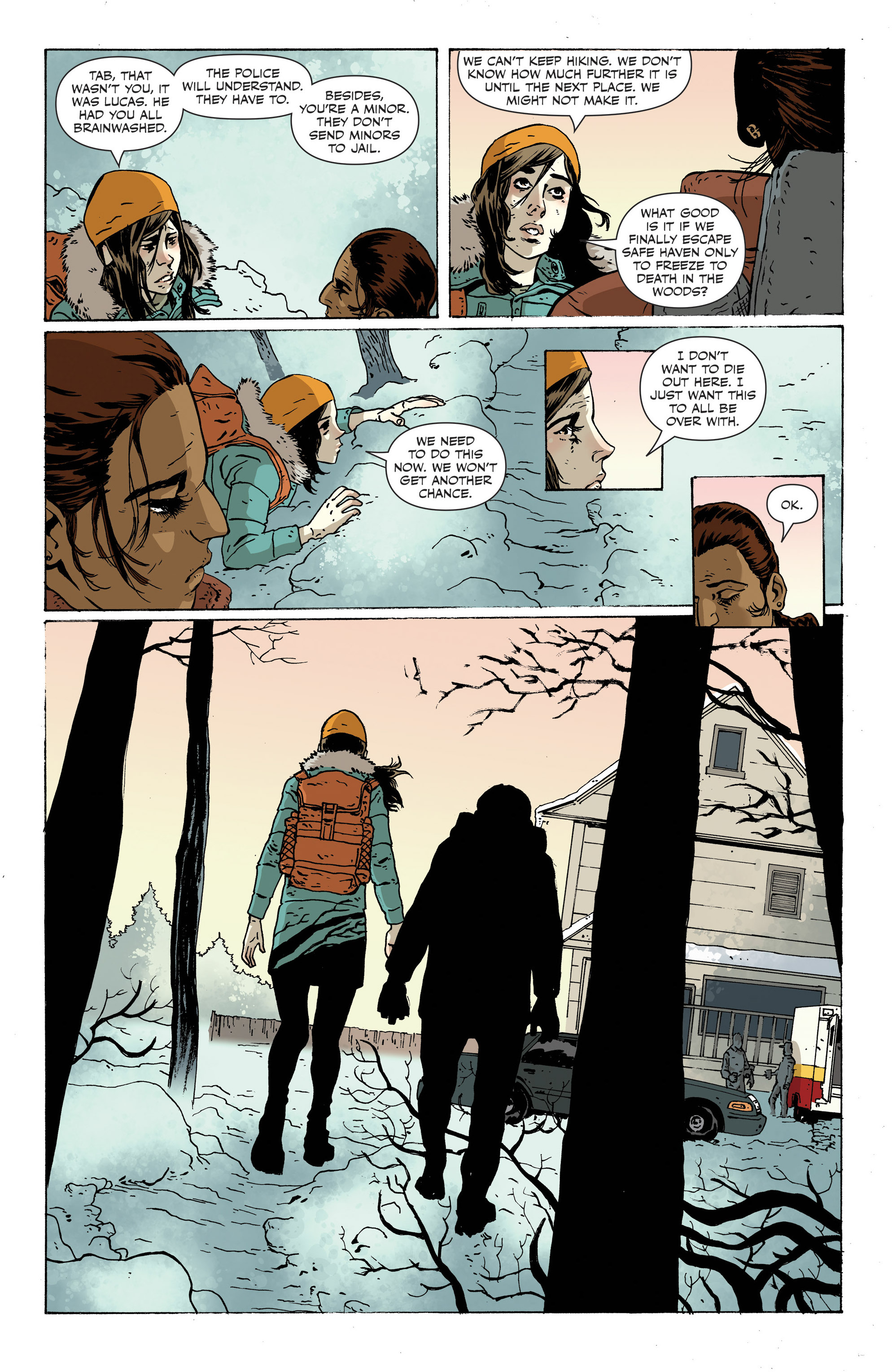 Read online Sheltered comic -  Issue #12 - 8