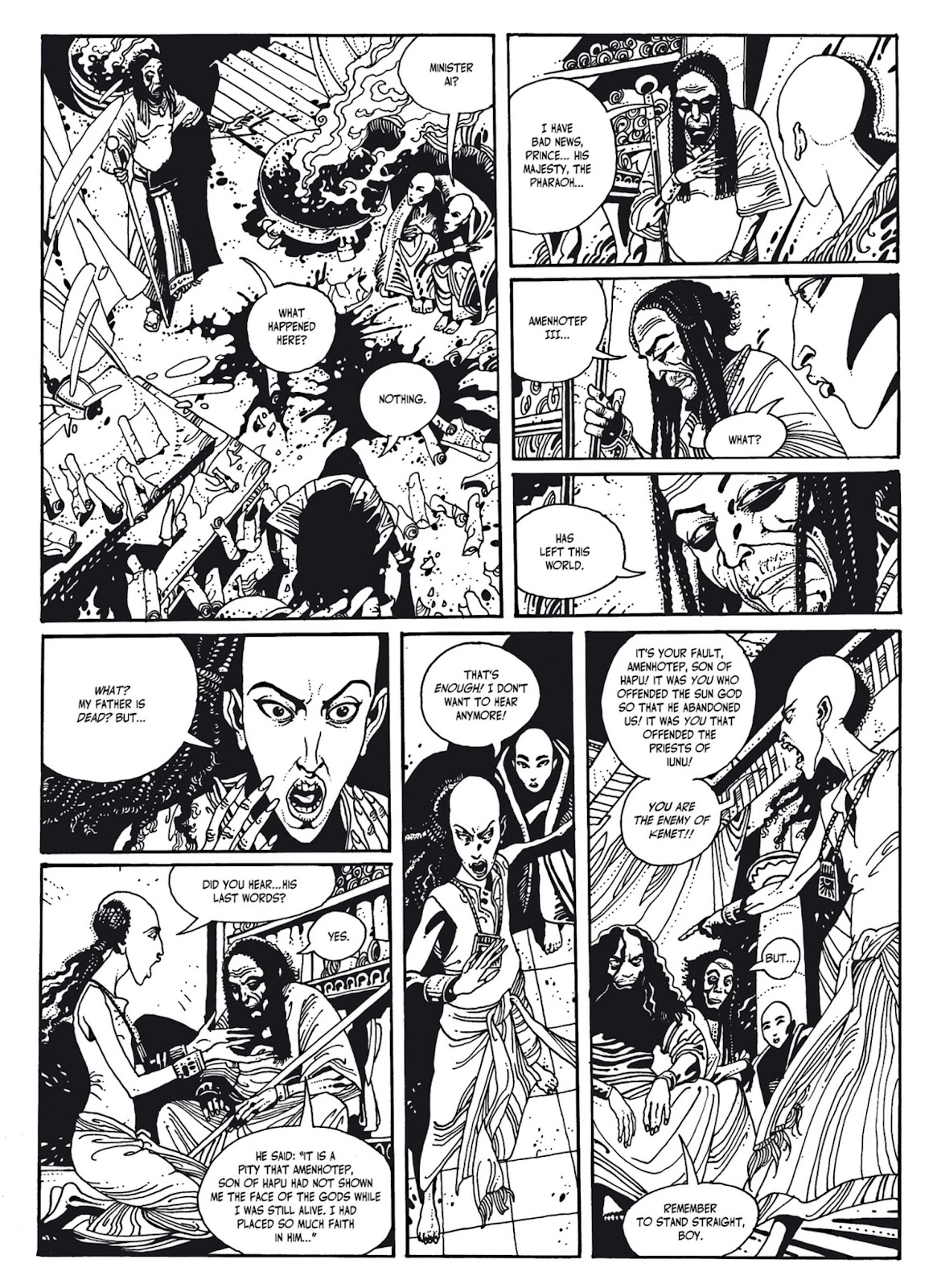Read online The Egyptian Princesses comic -  Issue # TPB 1 (Part 2) - 92