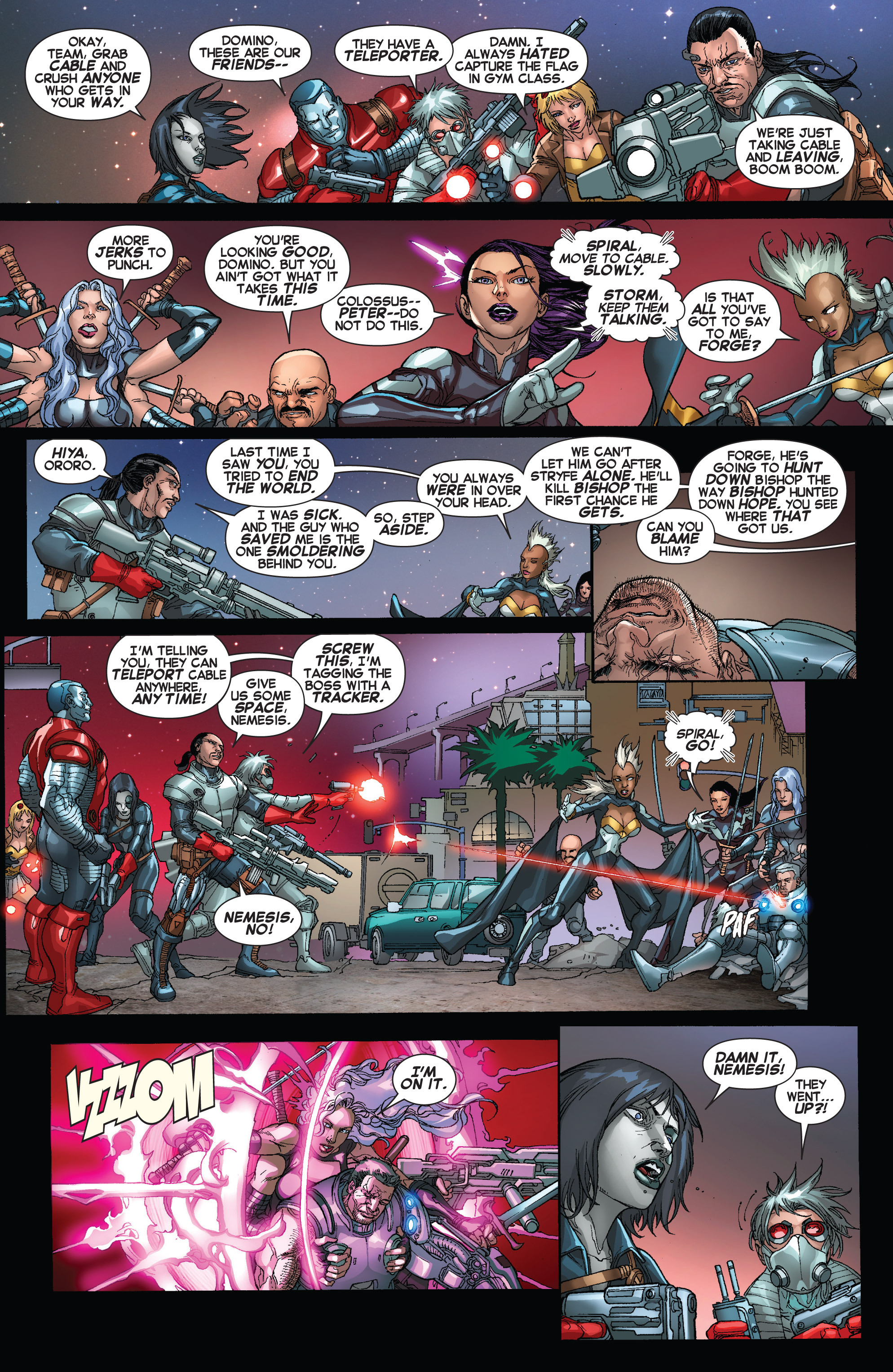 Read online Uncanny X-Force (2013) comic -  Issue #16 - 10